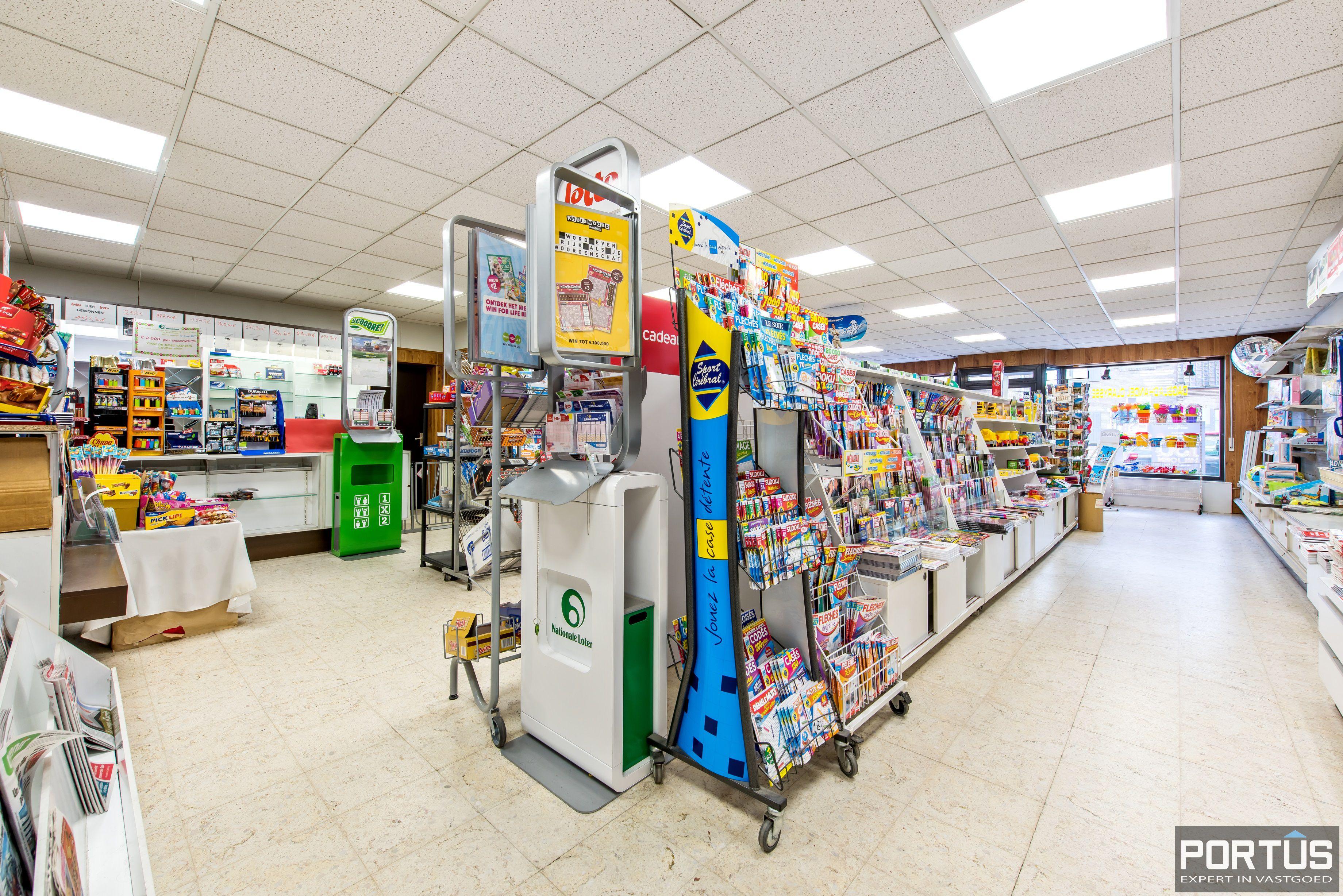 Handelsgelijkvloers met grote kelder te koop - 10819