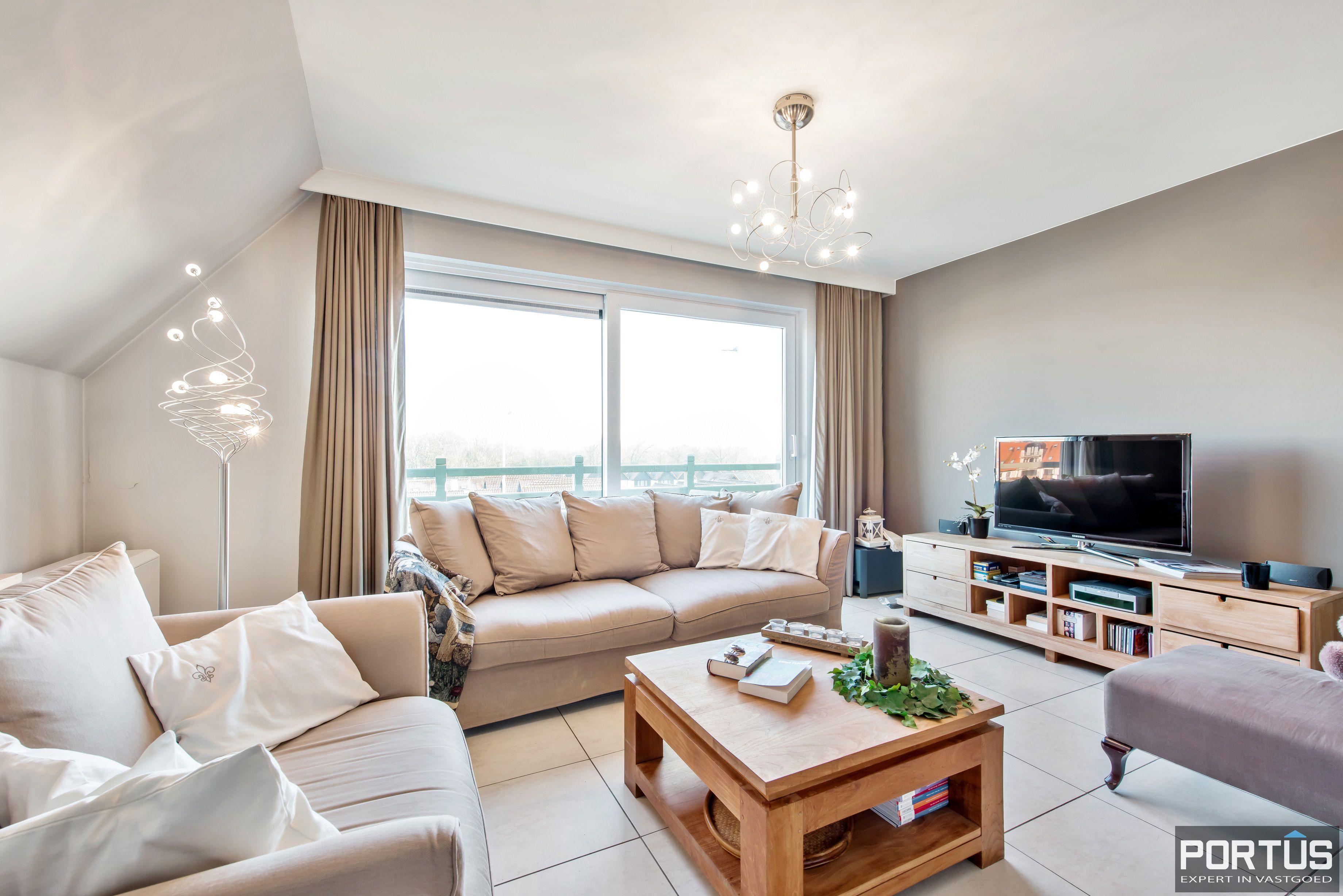 Instapklare duplex met 2 slaapkamers te koop te Nieuwpoort