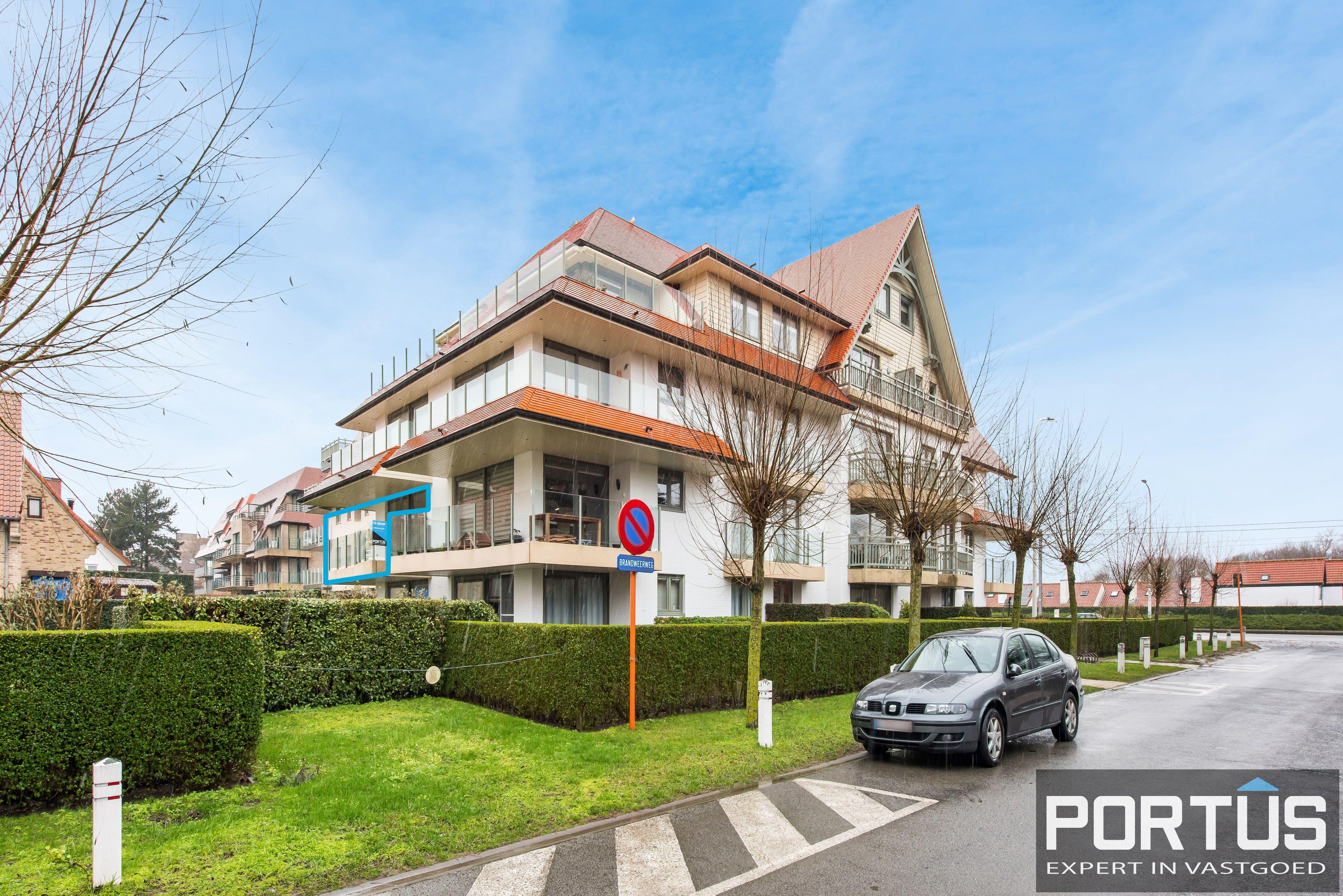 Zongerichte appartement met 2 slaapkamers te koop te Nieuwpoort