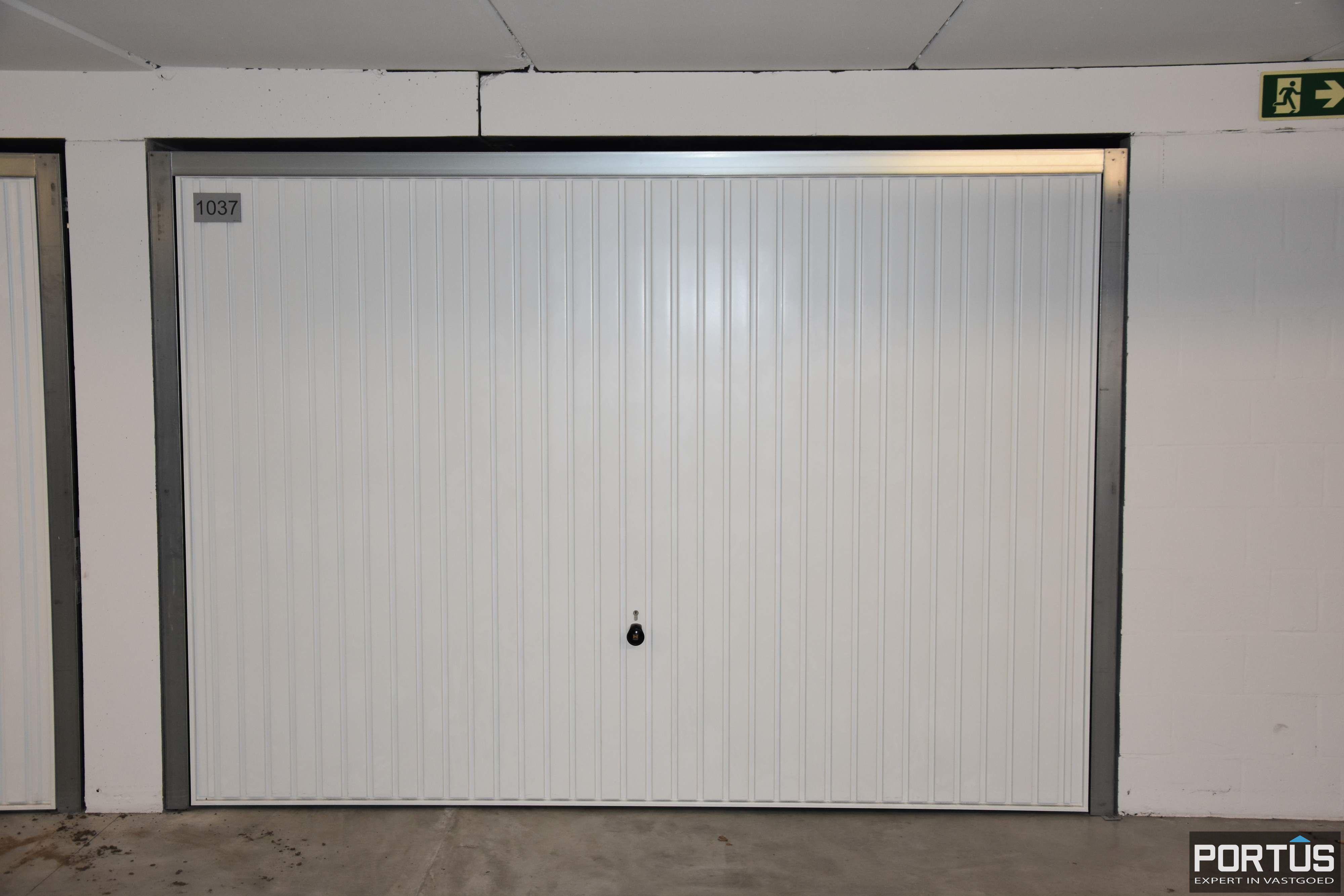 Gesloten ruime garagebox te huur