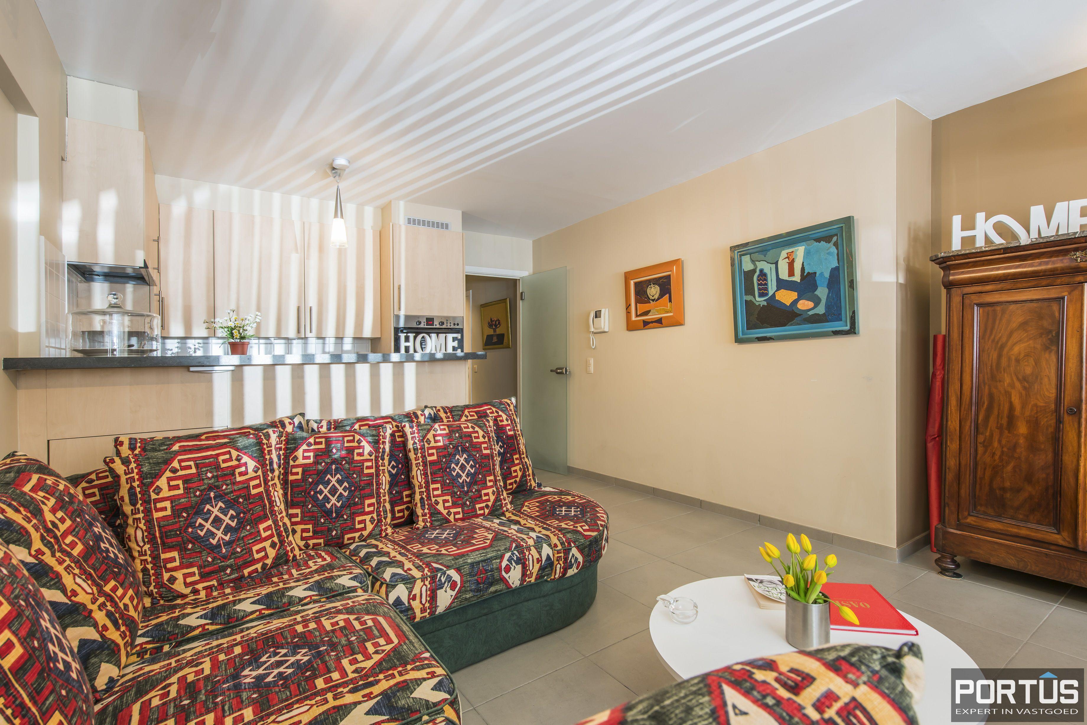 Instapklaar gelijkvloers appartement met 2 slaapkamers te koop te Nieuwpoort  - 11206