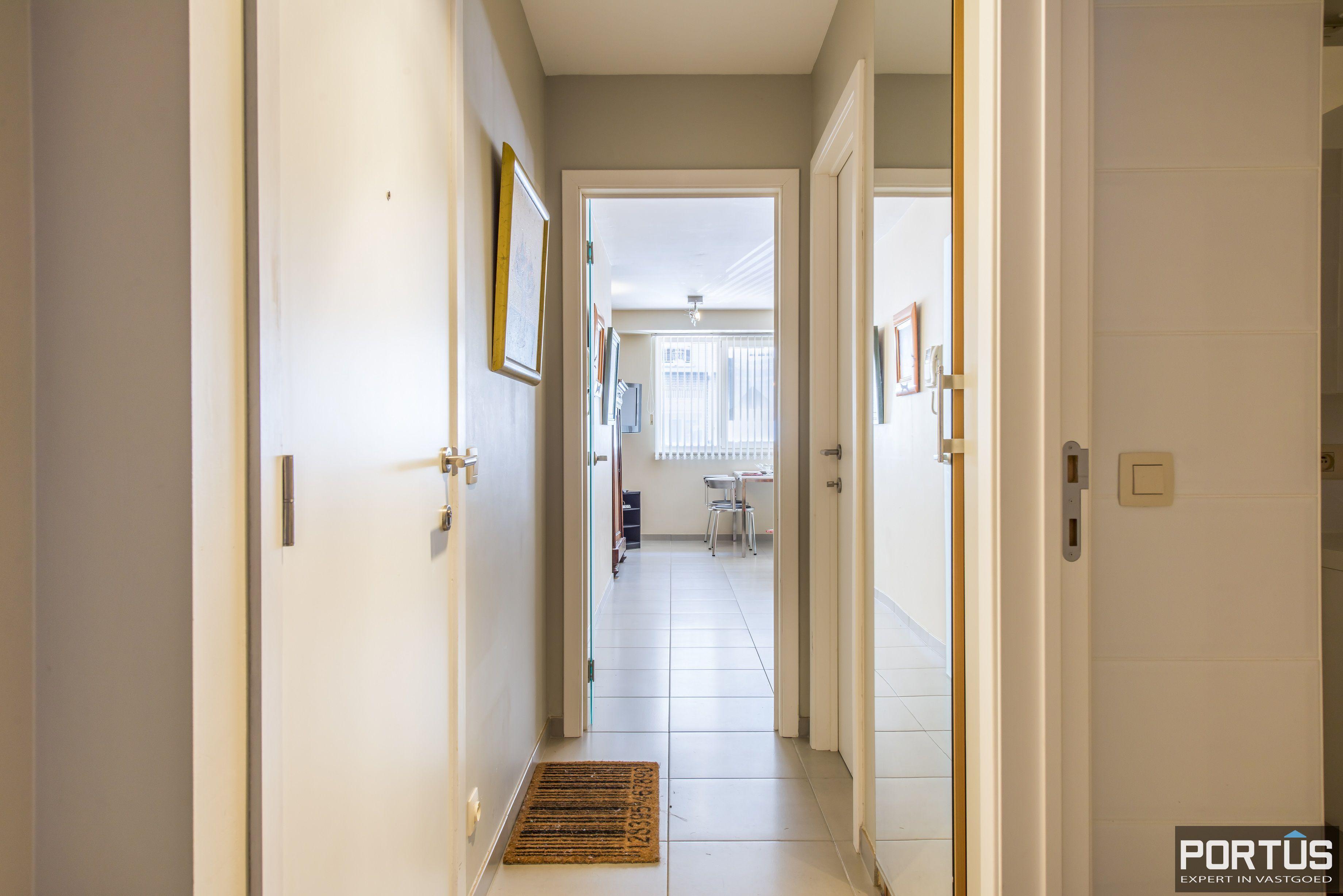 Instapklaar gelijkvloers appartement met 2 slaapkamers te koop te Nieuwpoort  - 11212