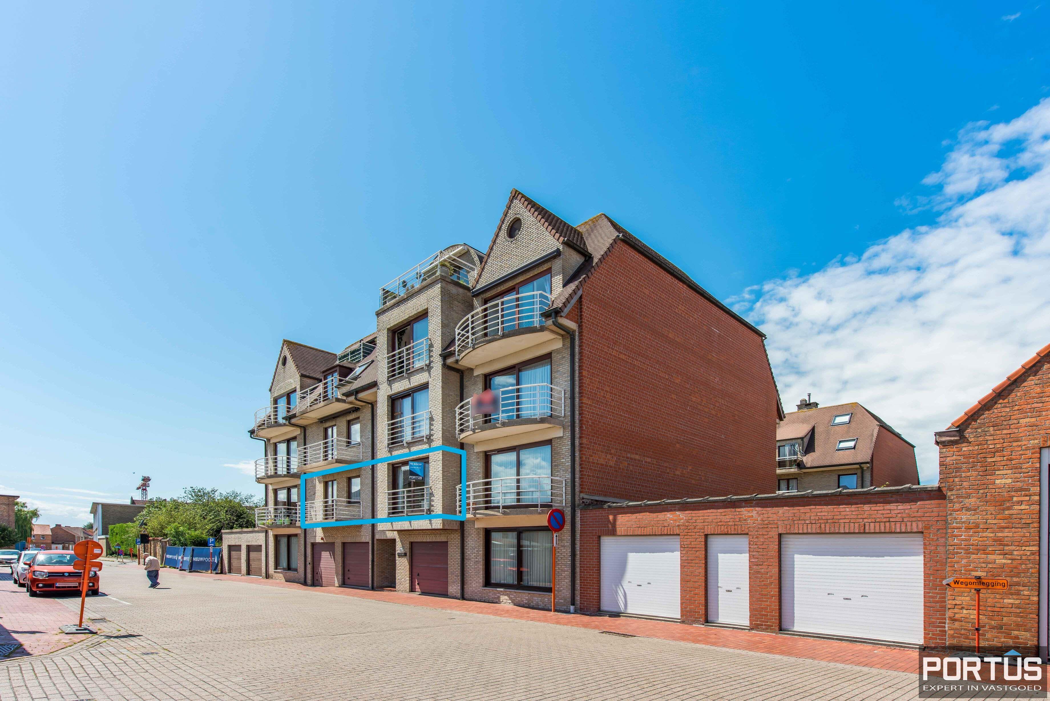 Ruim appartement met 2 slaapkamers te koop te Nieuwpoort-Stad - 11184