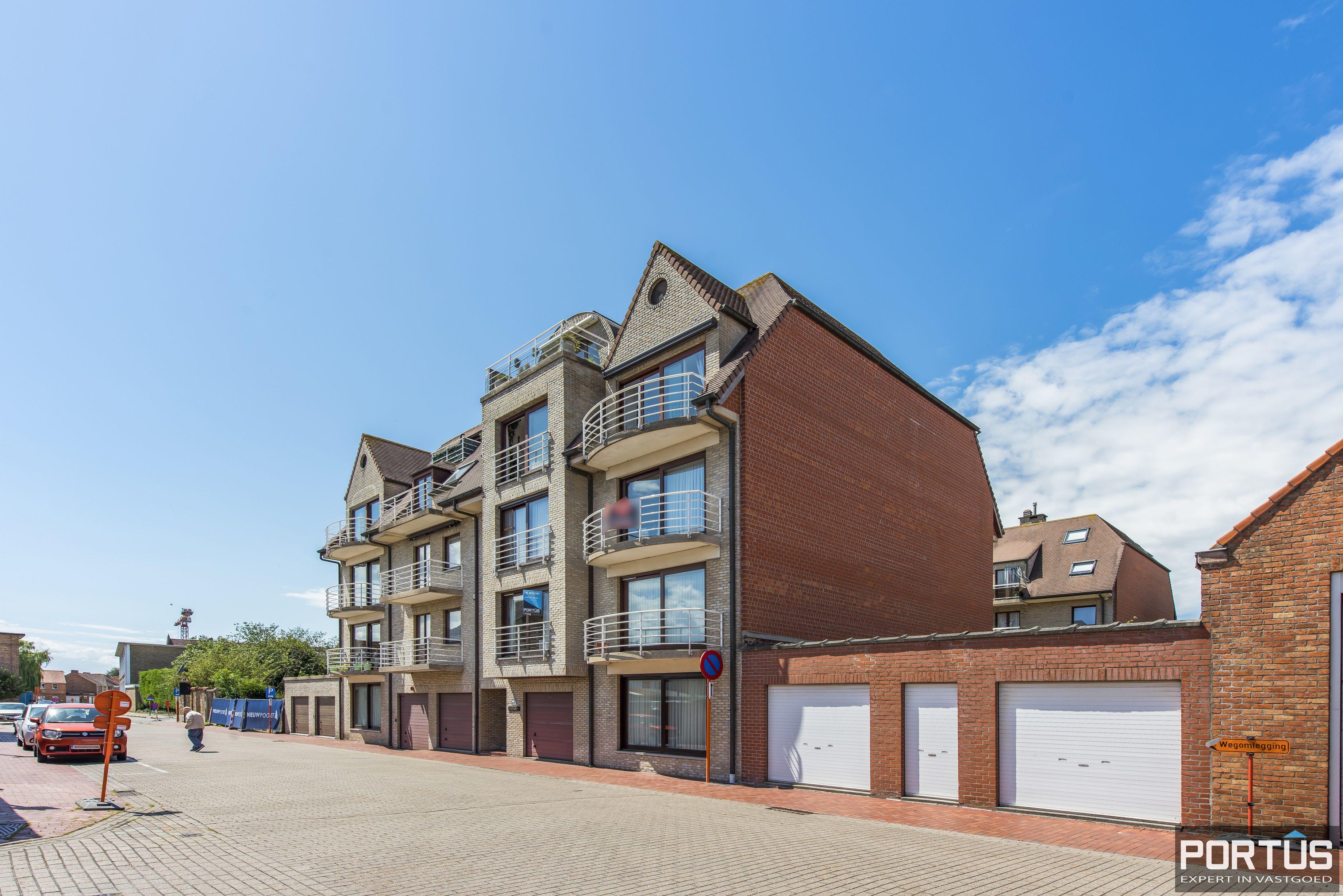 Ruim appartement met 2 slaapkamers te koop te Nieuwpoort-Stad - 11185