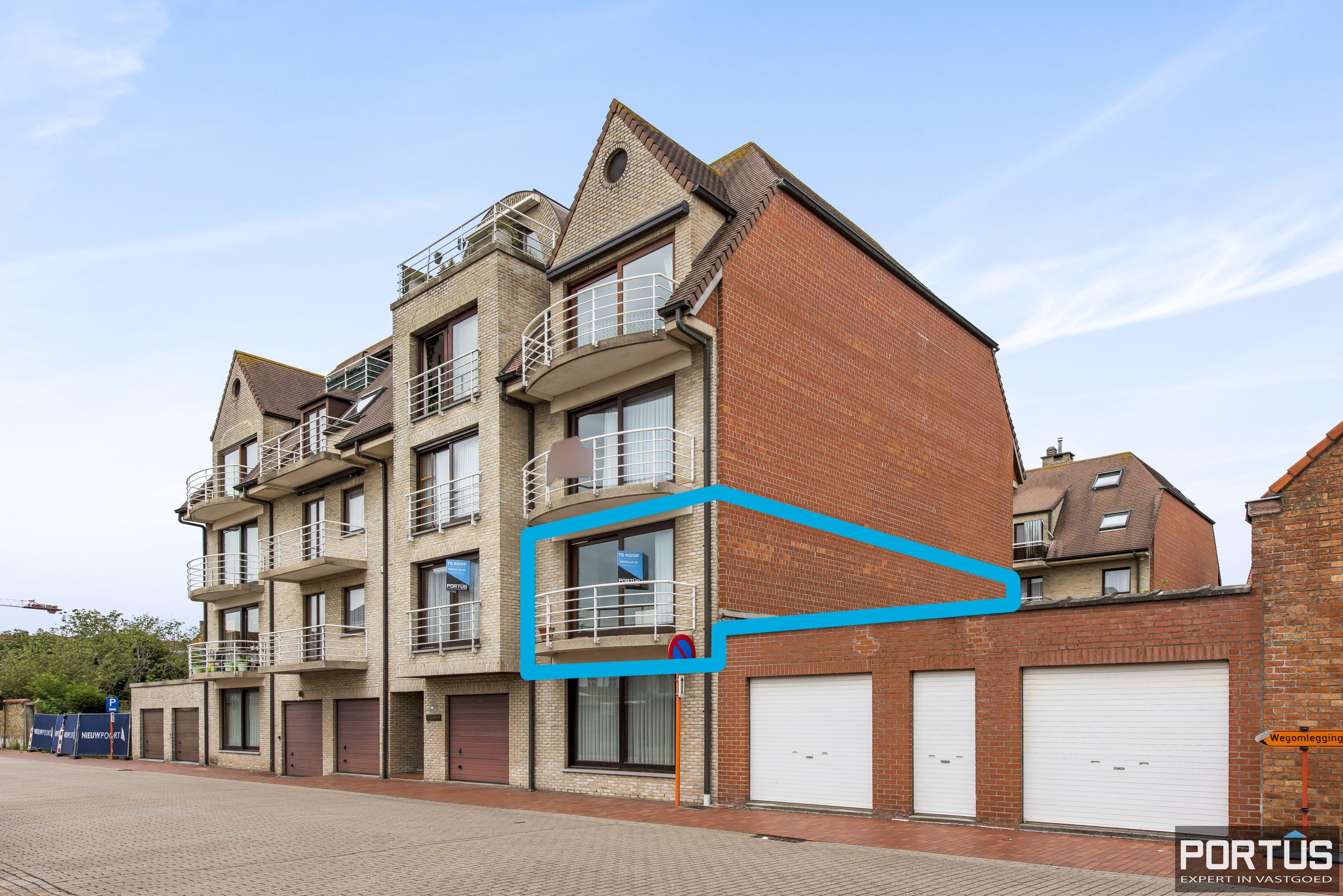 Ruim appartement met 3 slaapkamers te koop te Nieuwpoort-Stad