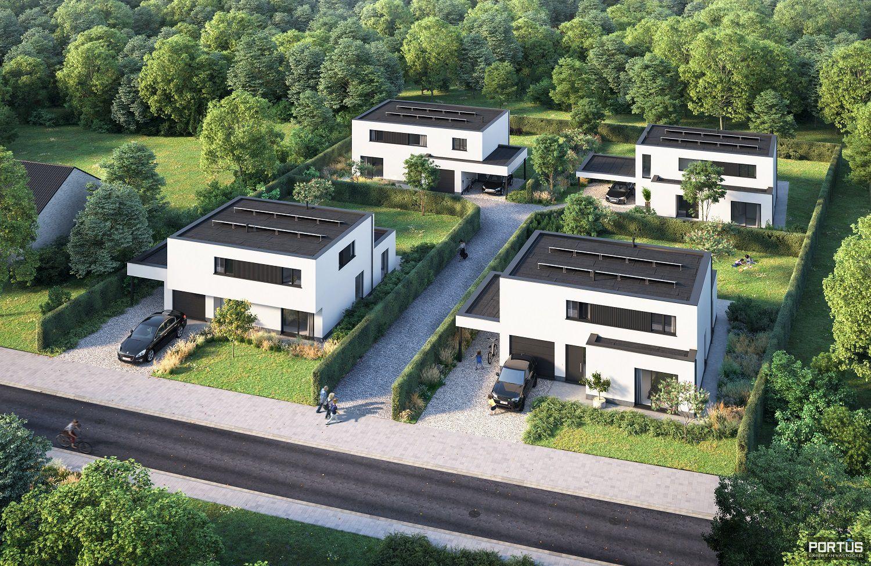 Energiezuinige nieuwbouwvilla te koop met 4 slaapkamers - 11483