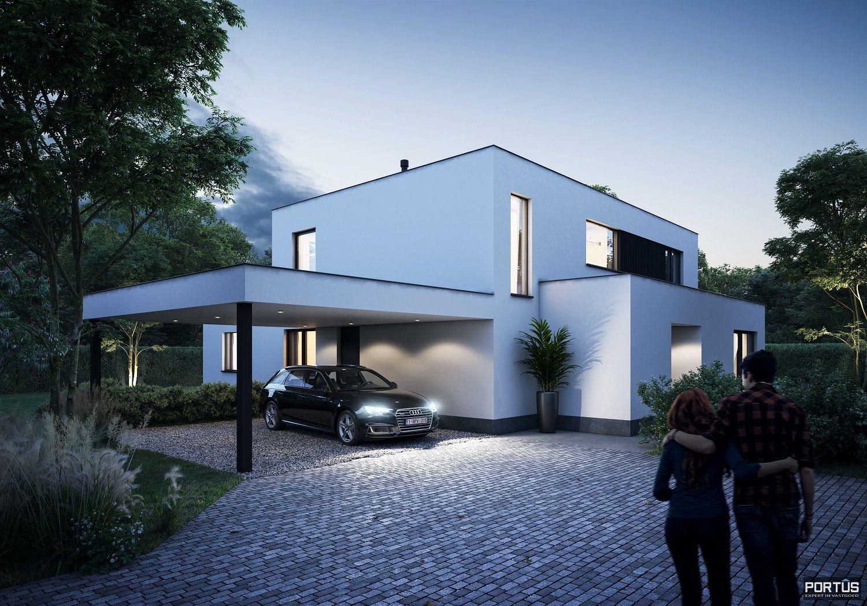 Energiezuinige nieuwbouwvilla te koop met 4 slaapkamers