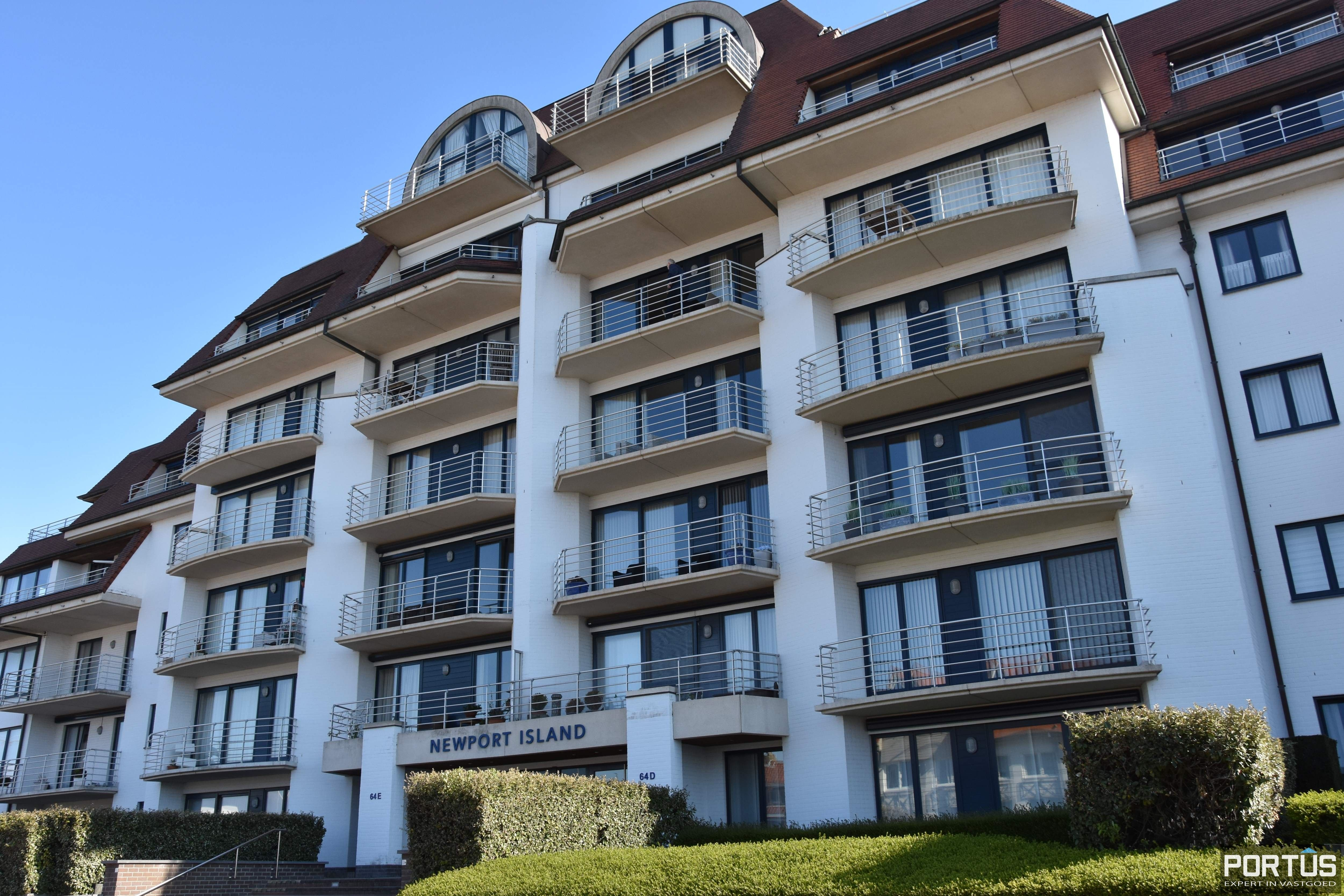 Appartement te huur met 1 slaapkamer te Nieuwpoort