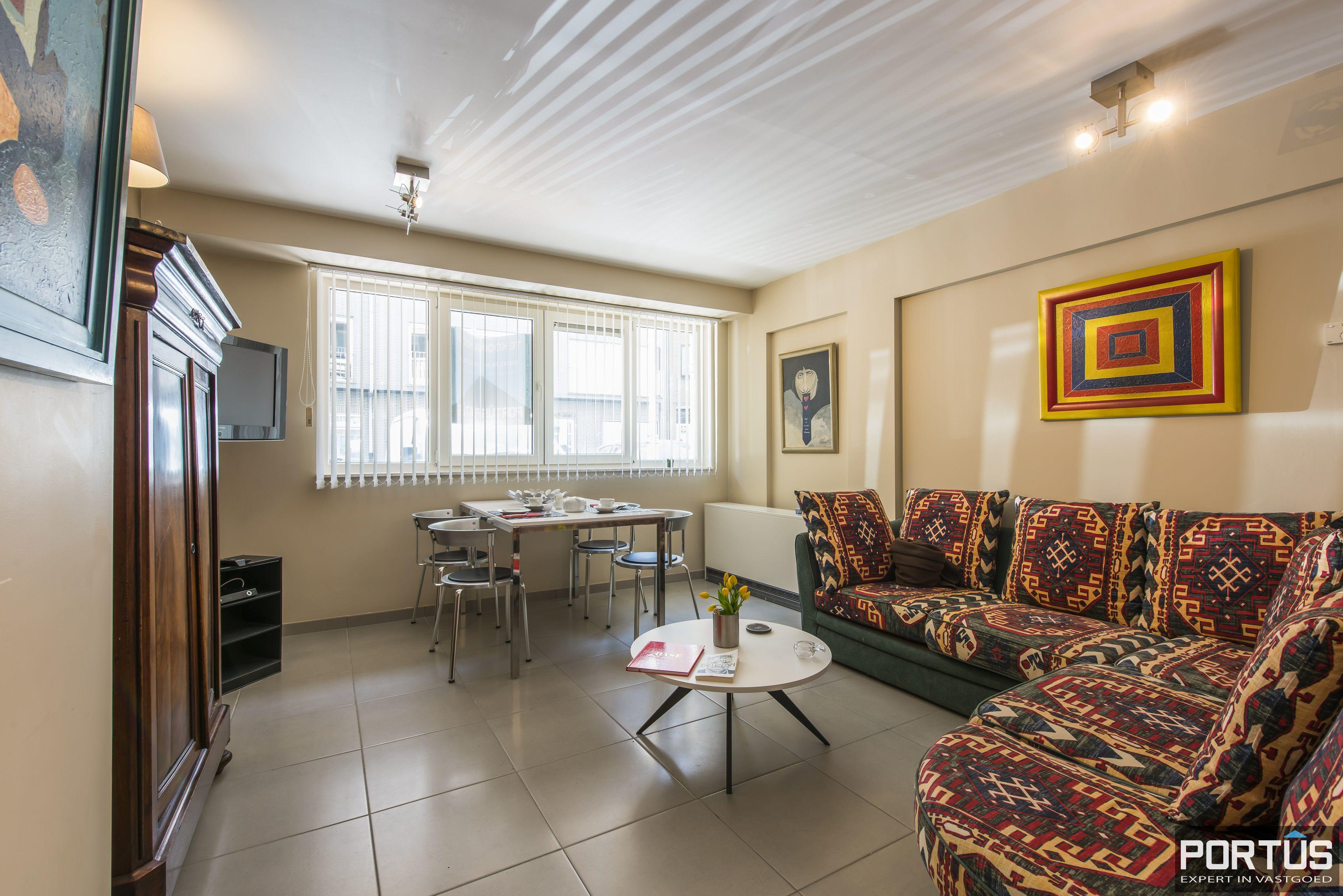 Instapklaar gelijkvloers appartement met 2 slaapkamers te huur te Nieuwpoort  - 11733