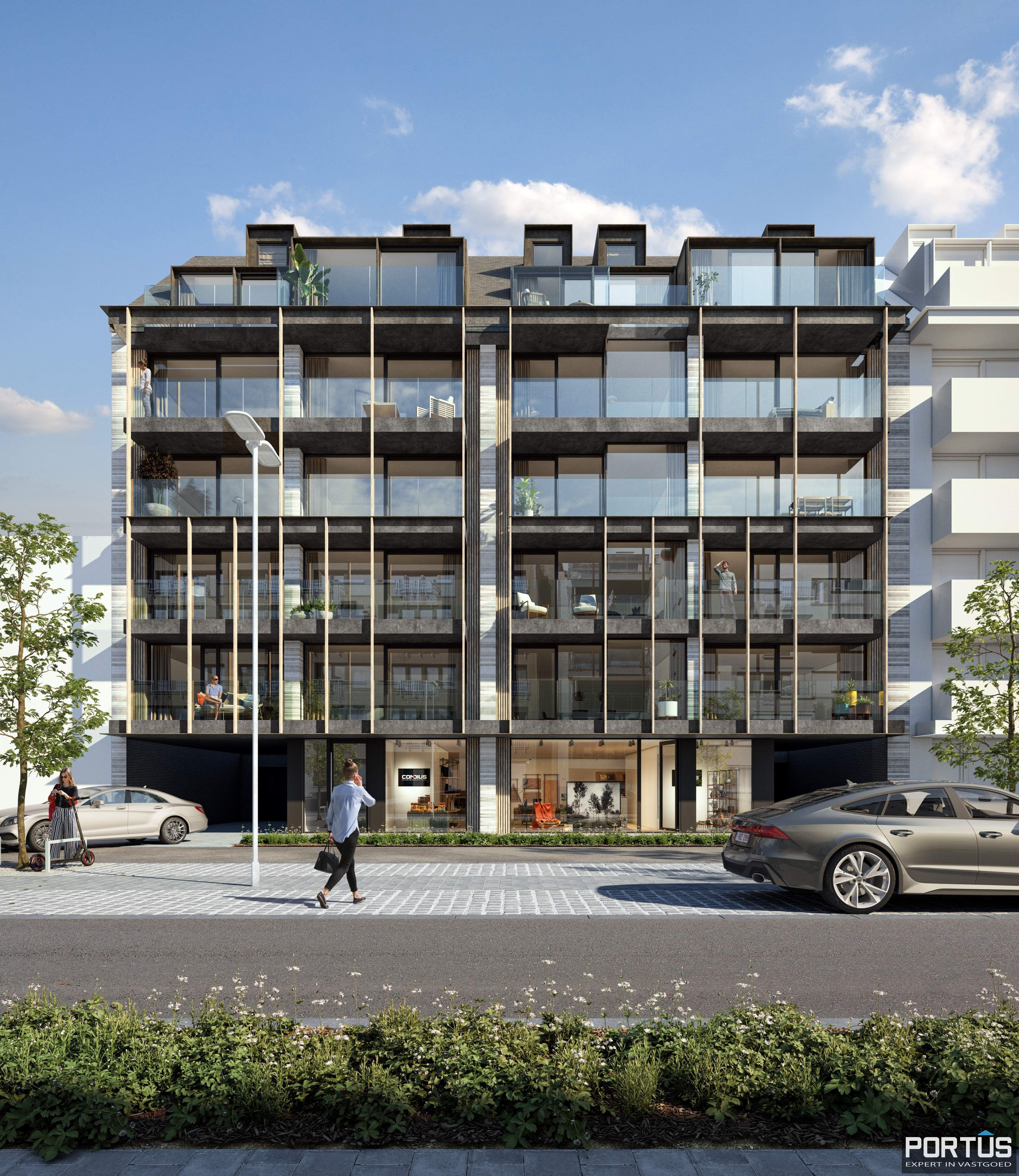 Duplex te koop in nieuwbouwresidentie Lectus IX te Nieuwpoort - 11748