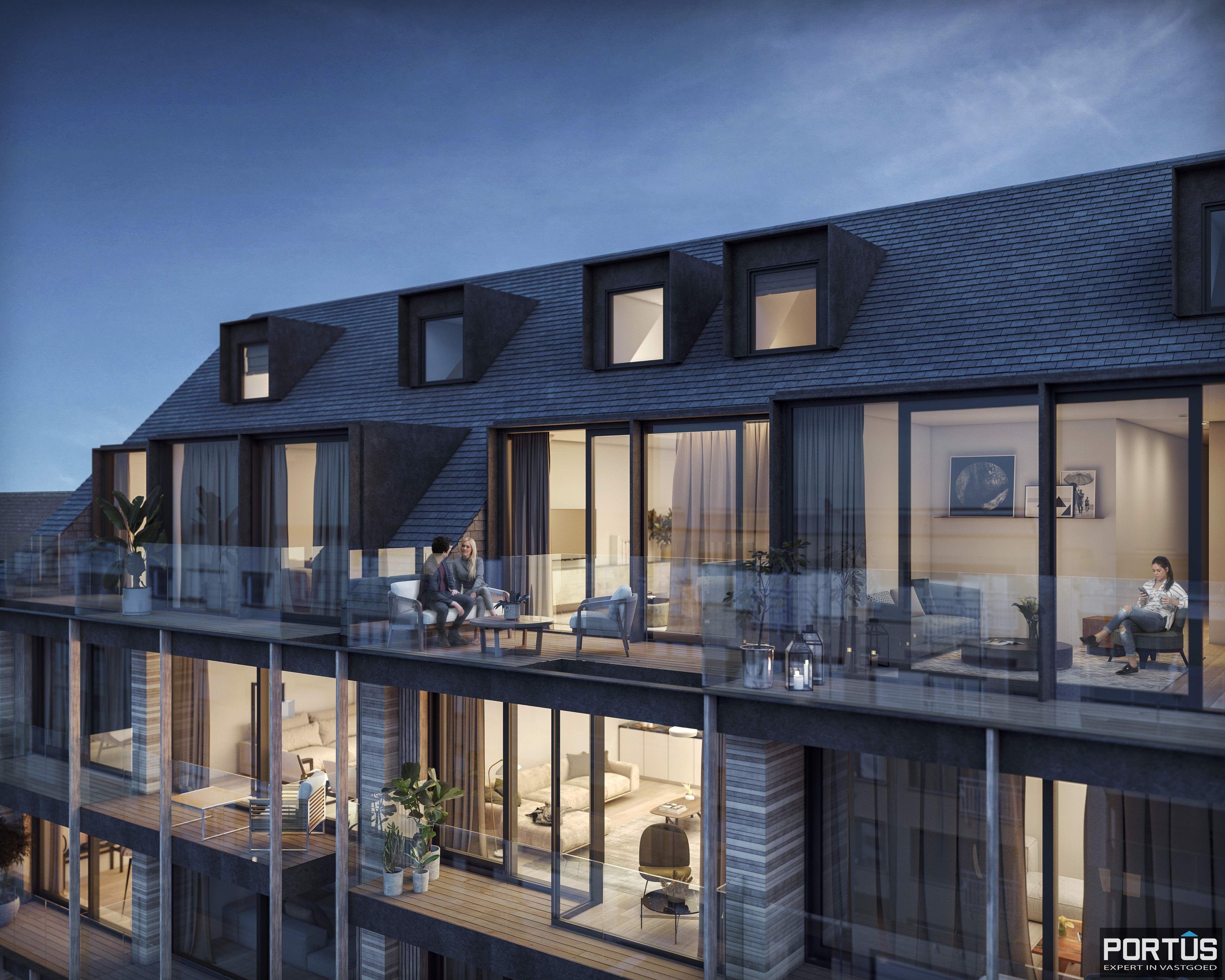 Duplex te koop in nieuwbouwresidentie Lectus IX te Nieuwpoort