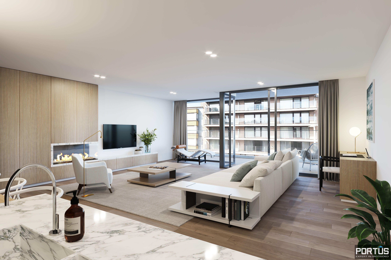 Appartement met 2 slaapkamers te koop in nieuwbouwresidentie Lectus IX te Nieuwpoort