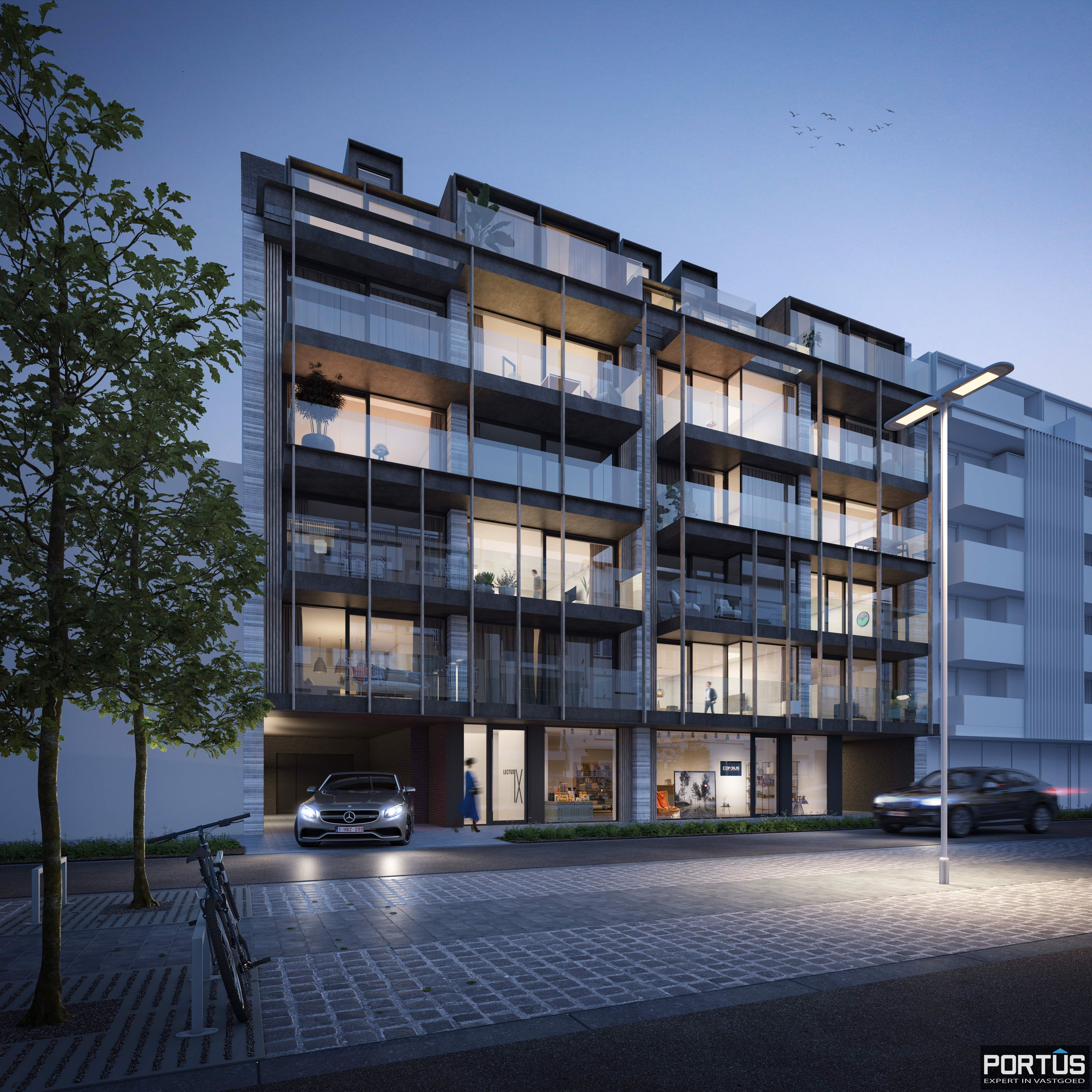 Appartement met 2 slaapkamers te koop in nieuwbouwresidentie Lectus IX te Nieuwpoort - 11924