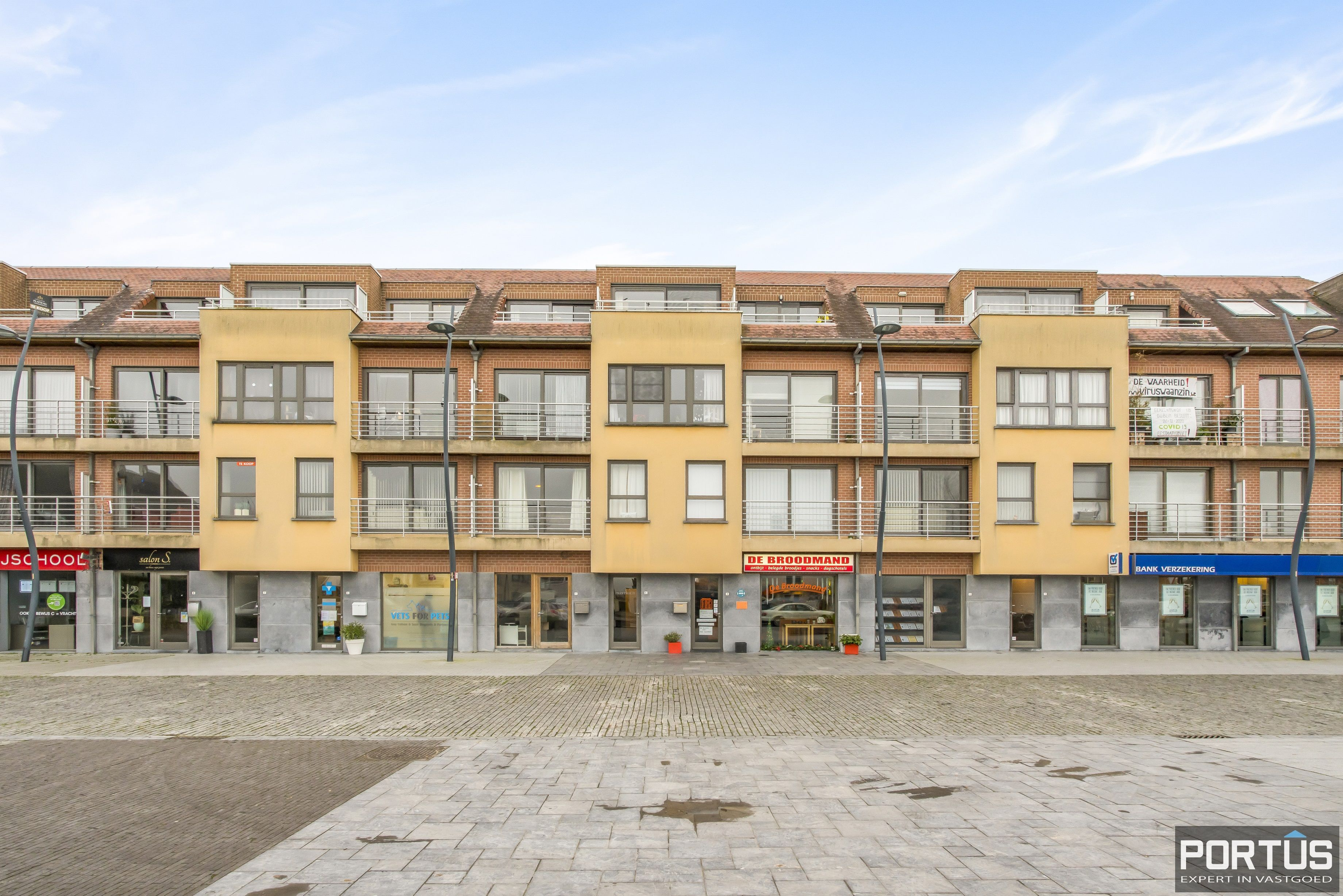 Instapklaar appartement met 1 slaapkamer te koop te Westende - 12053