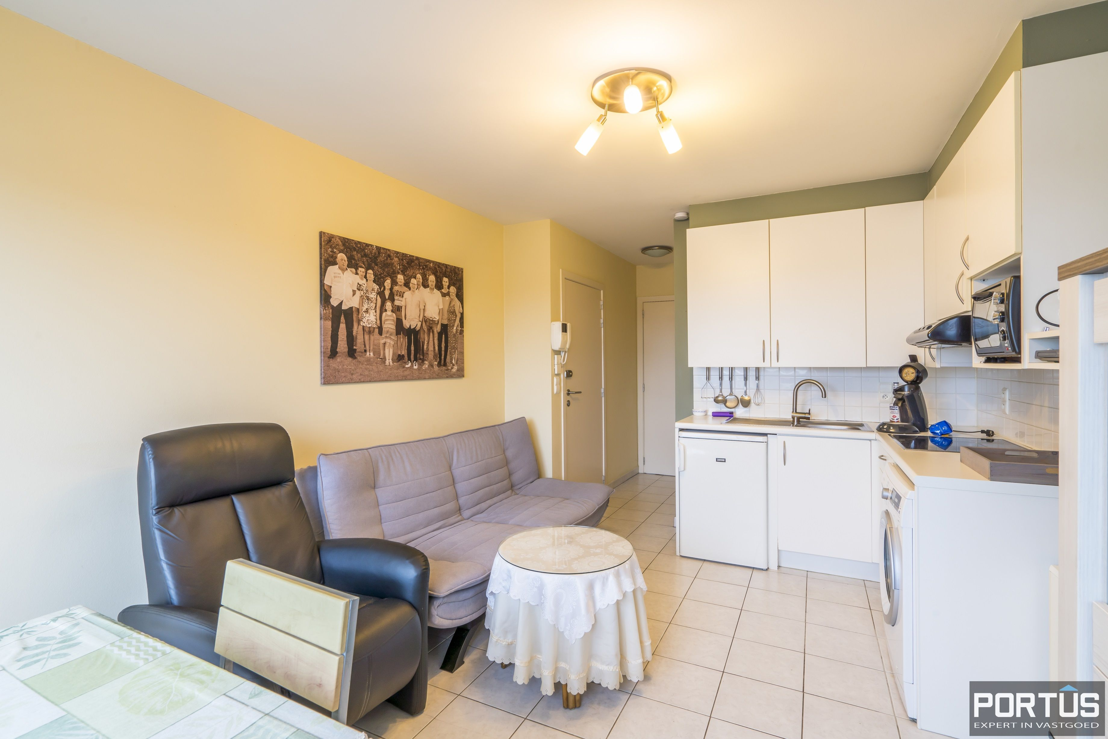 Instapklaar appartement met 1 slaapkamer te koop te Westende - 12056