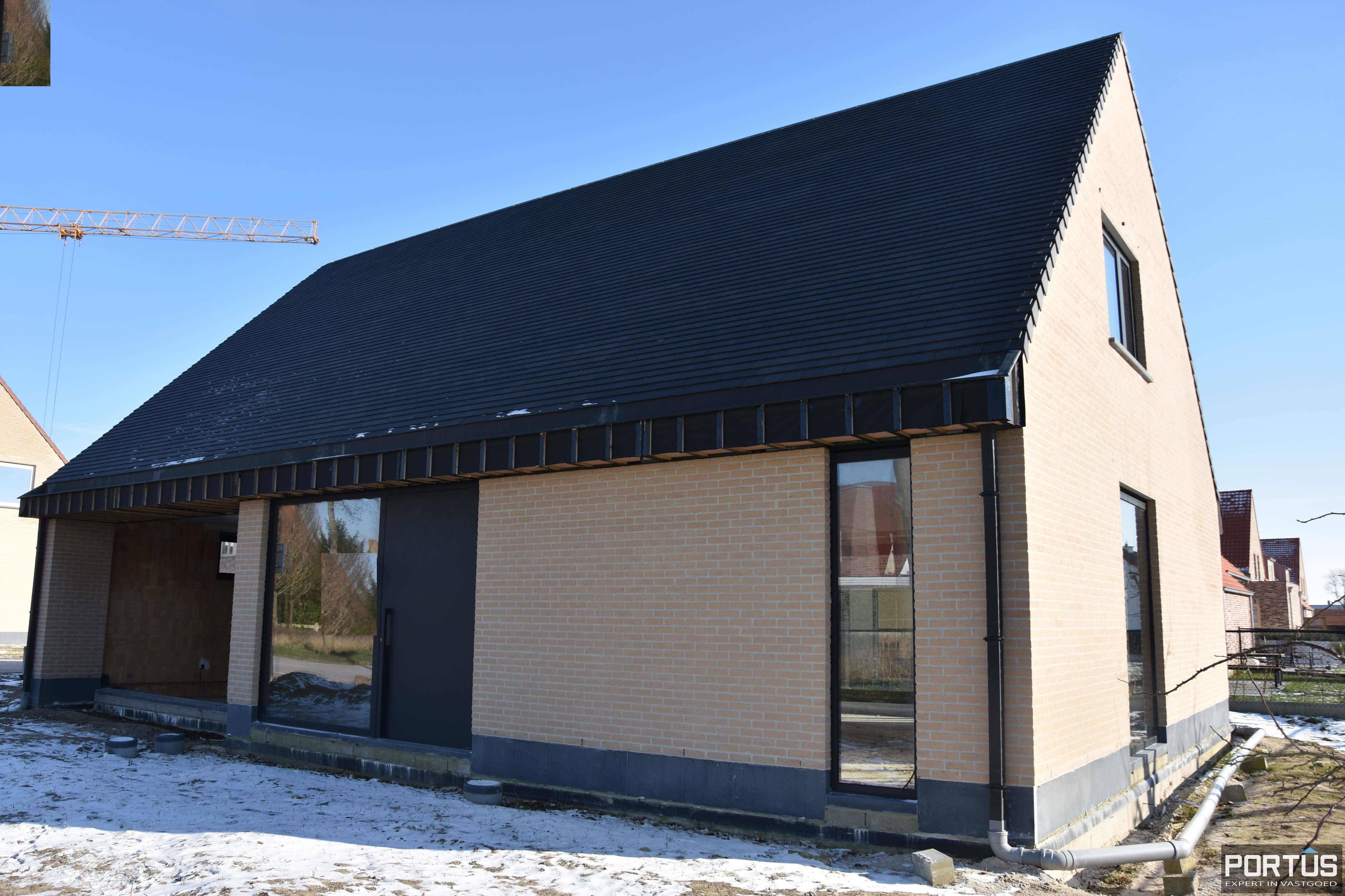 Nieuwbouwvilla met 3 slaapkamers te koop te Nieuwpoort