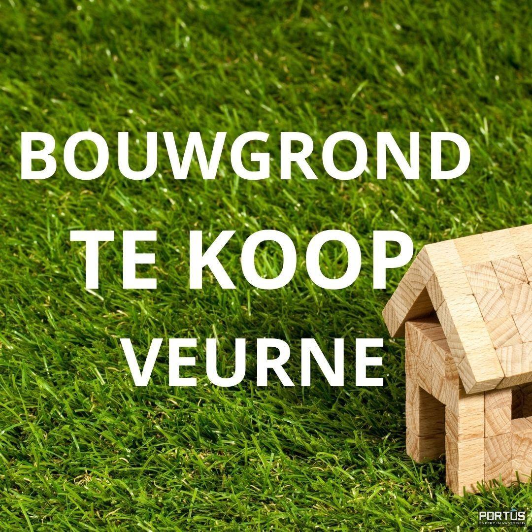 Bouwgrond te koop te Veurne