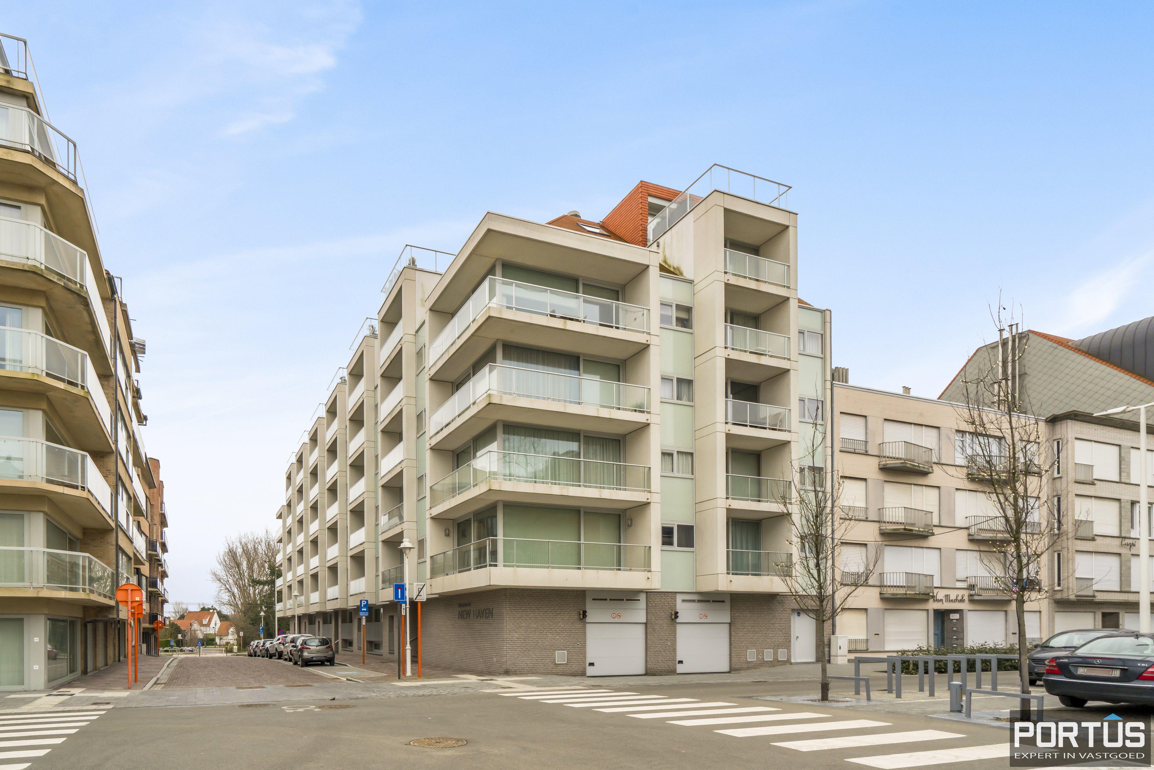 Instapklaar appartement met 2 slaapkamers te koop te Nieuwpoort