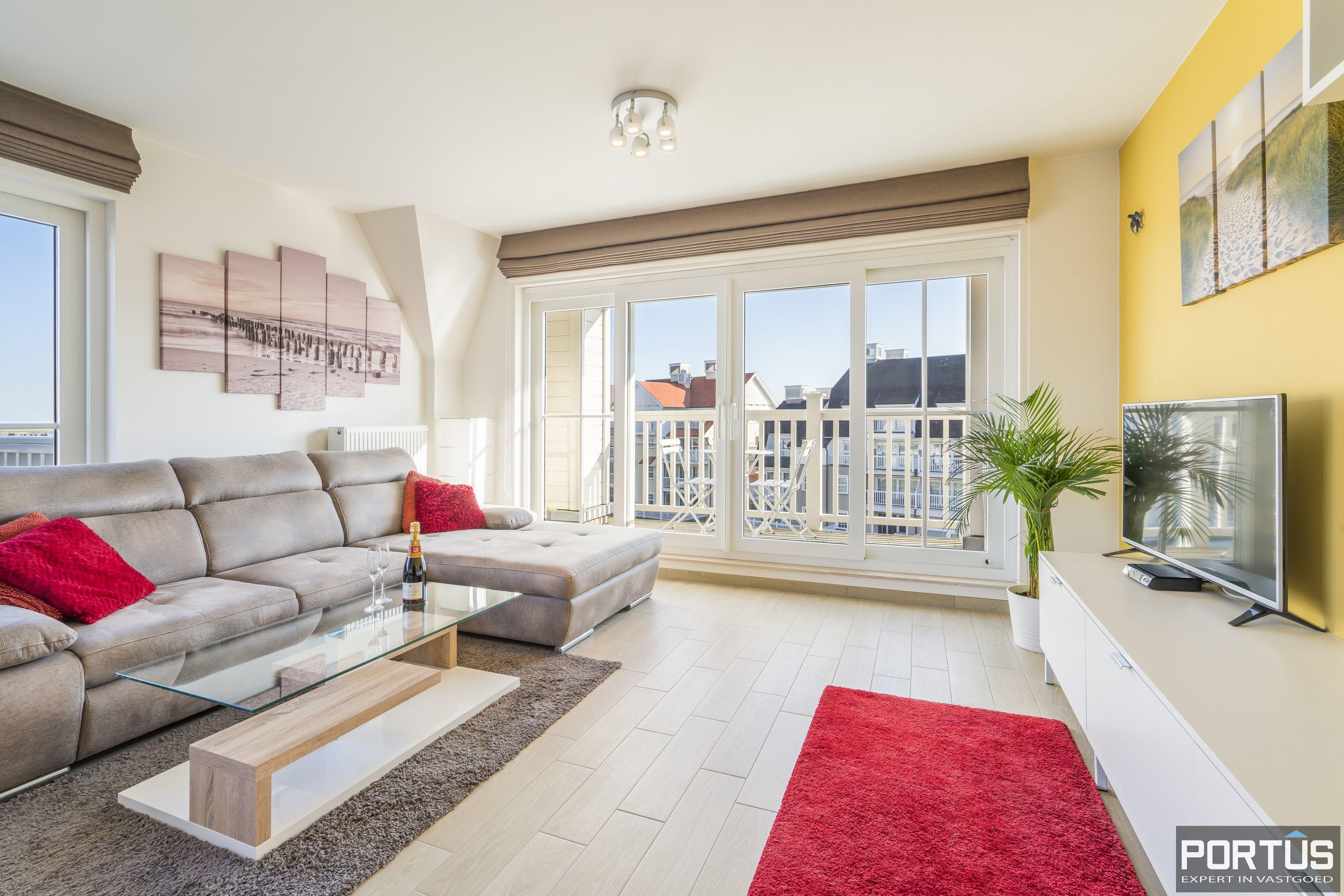 Instapklaar appartement te koop met prachtig zicht op Maritiem park te Nieuwpoort - 12575