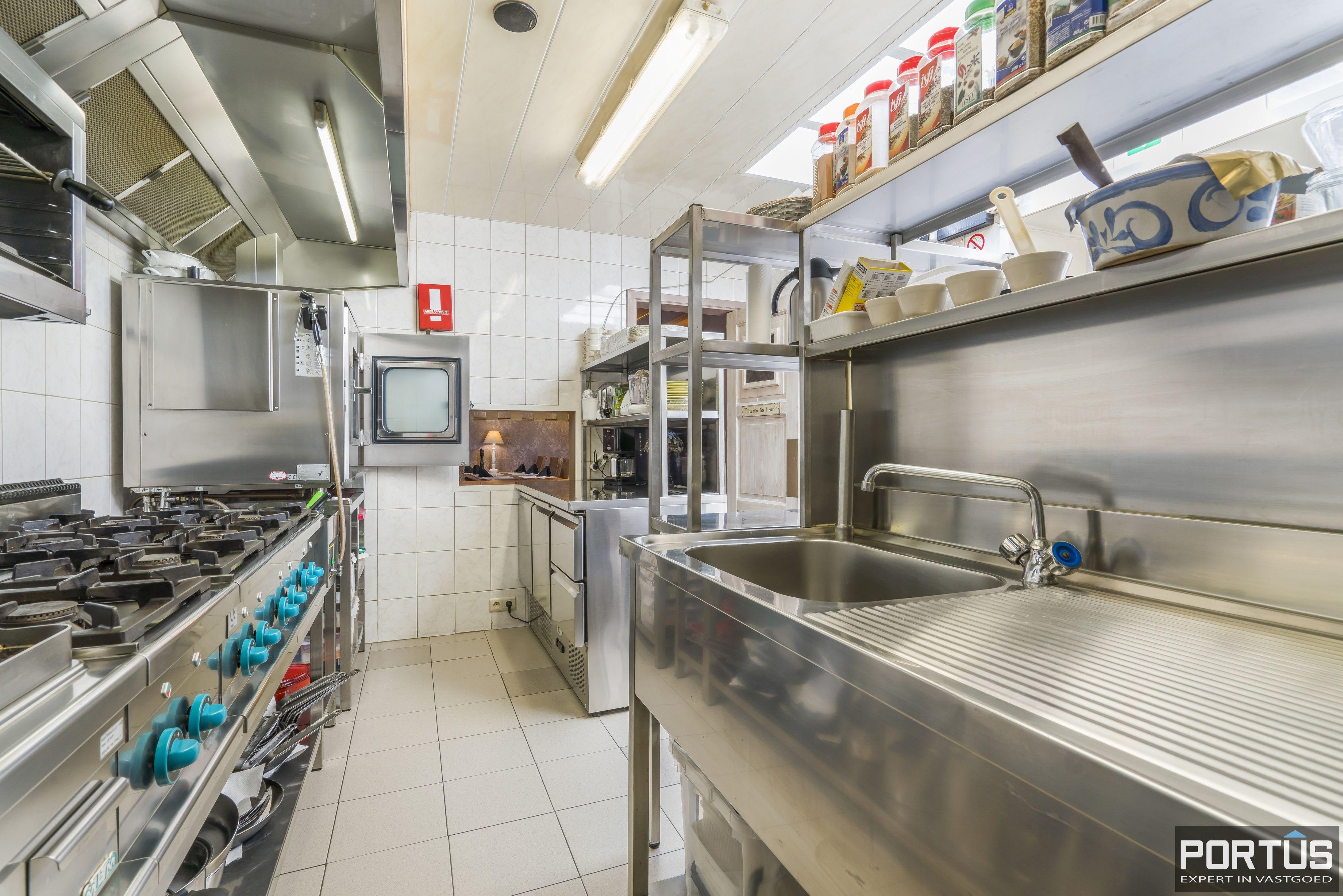 Restaurant met privéwoonst te koop te Westende - 12789