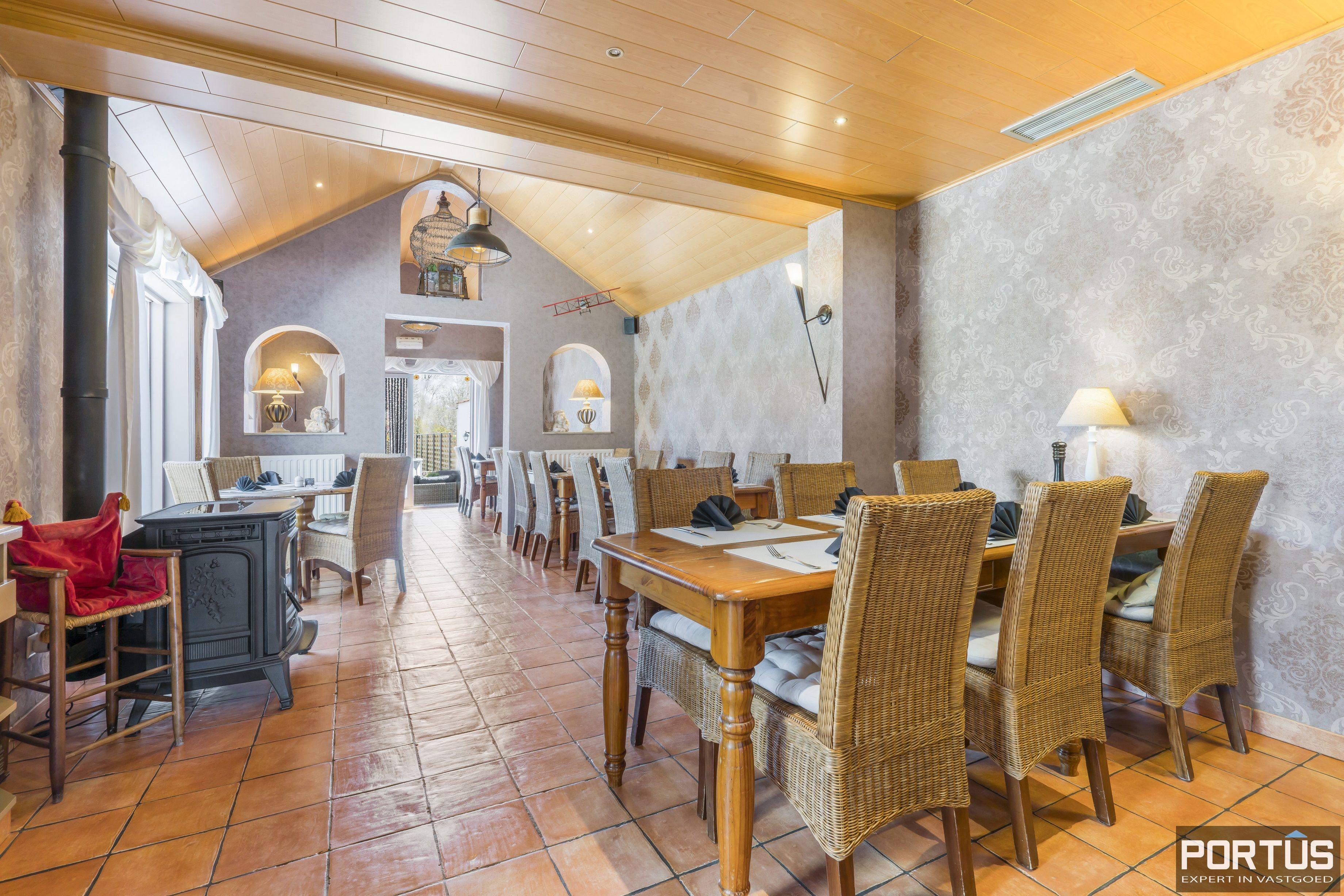 Restaurant met privéwoonst te koop te Westende - 12803