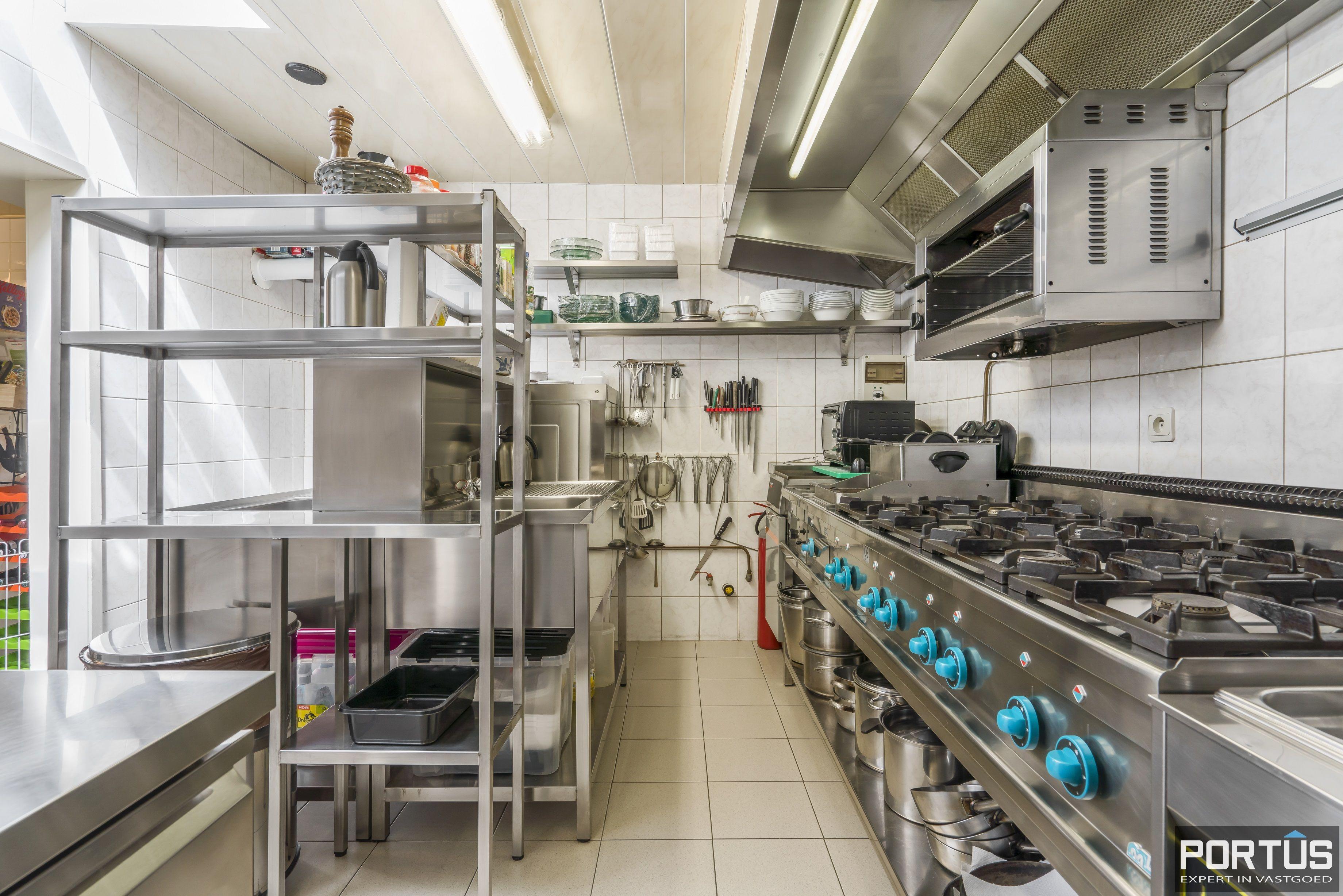 Restaurant met privéwoonst te koop te Westende - 12819