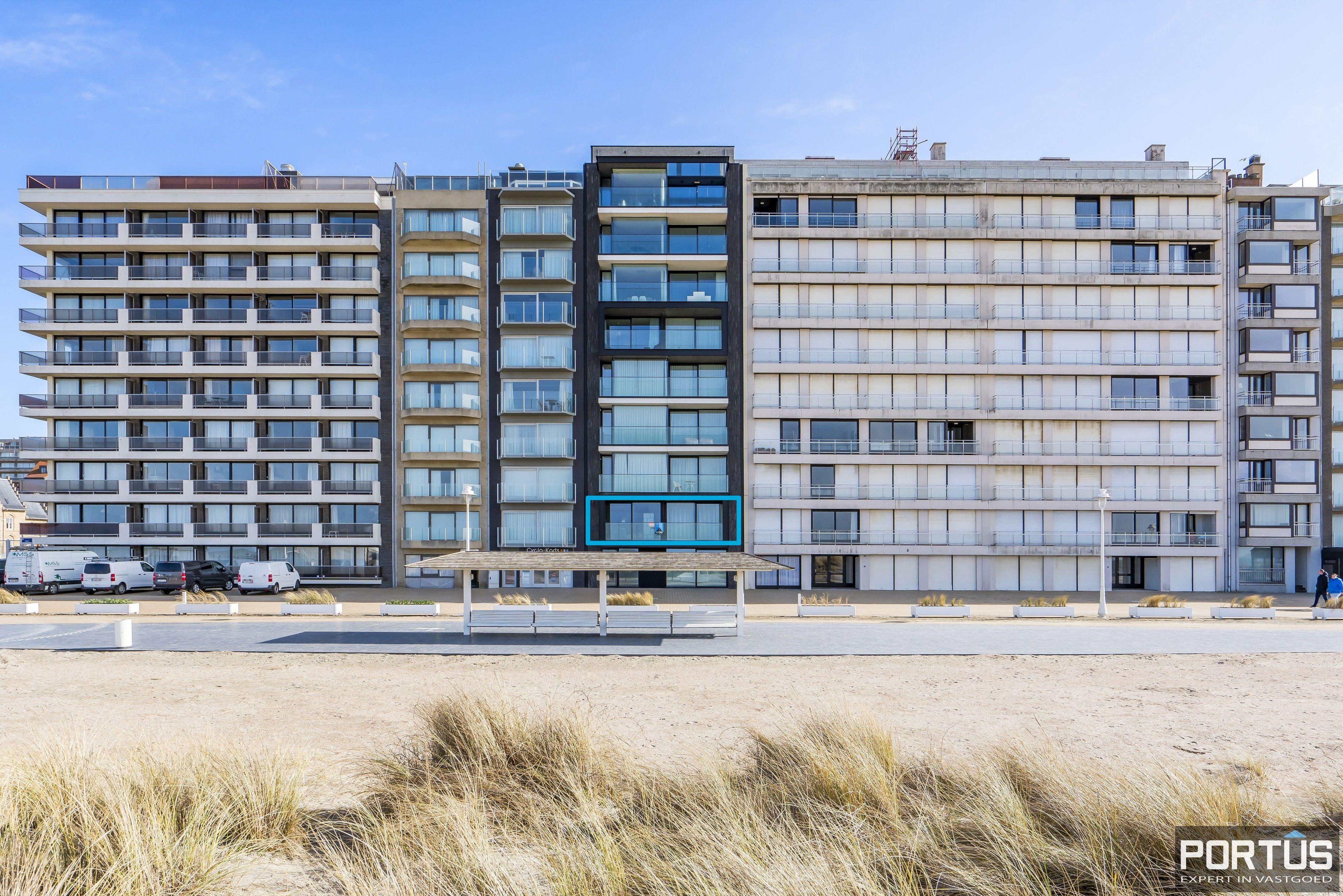 Recent appartement te koop te Nieuwpoort met frontaal zeezicht - 13051
