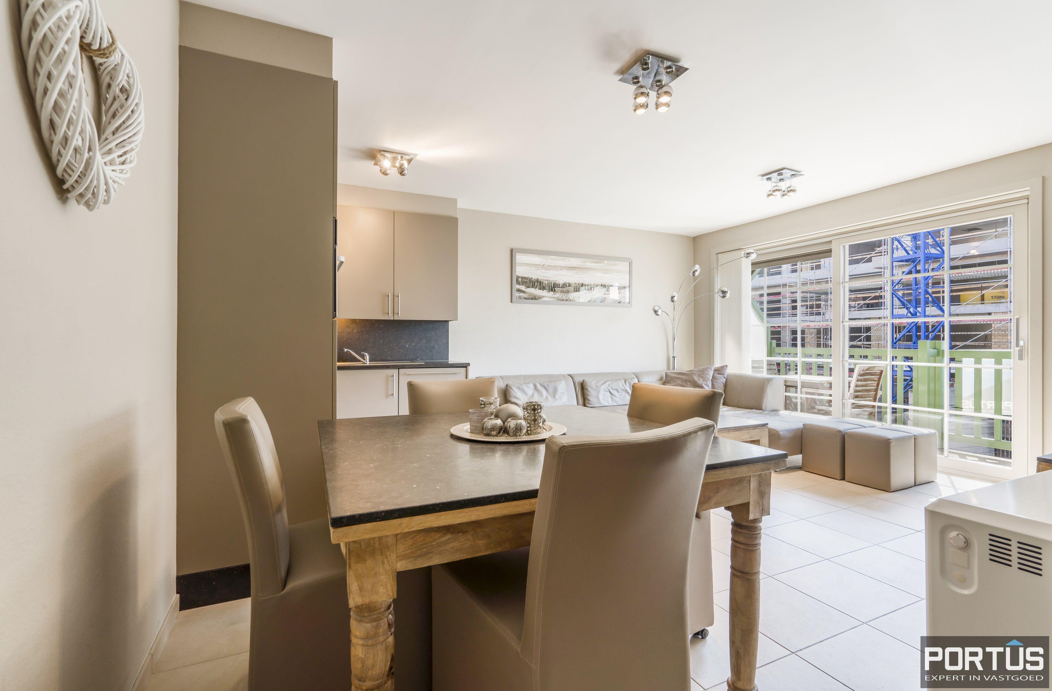 Instapklaar appartement met slaapkamer en slaaphoek te koop te Nieuwpoort - 13101