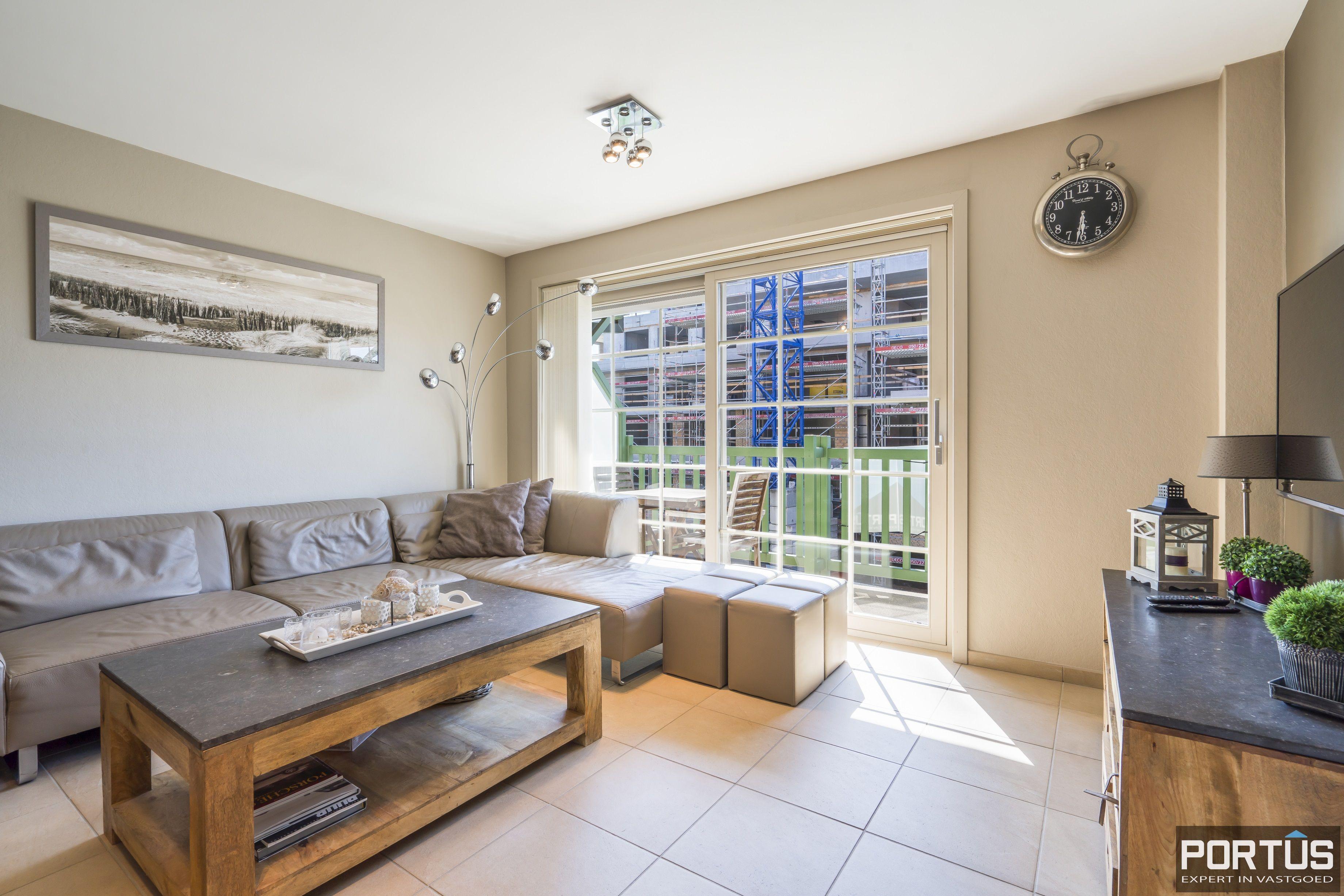 Instapklaar appartement met slaapkamer en slaaphoek te koop te Nieuwpoort - 13110