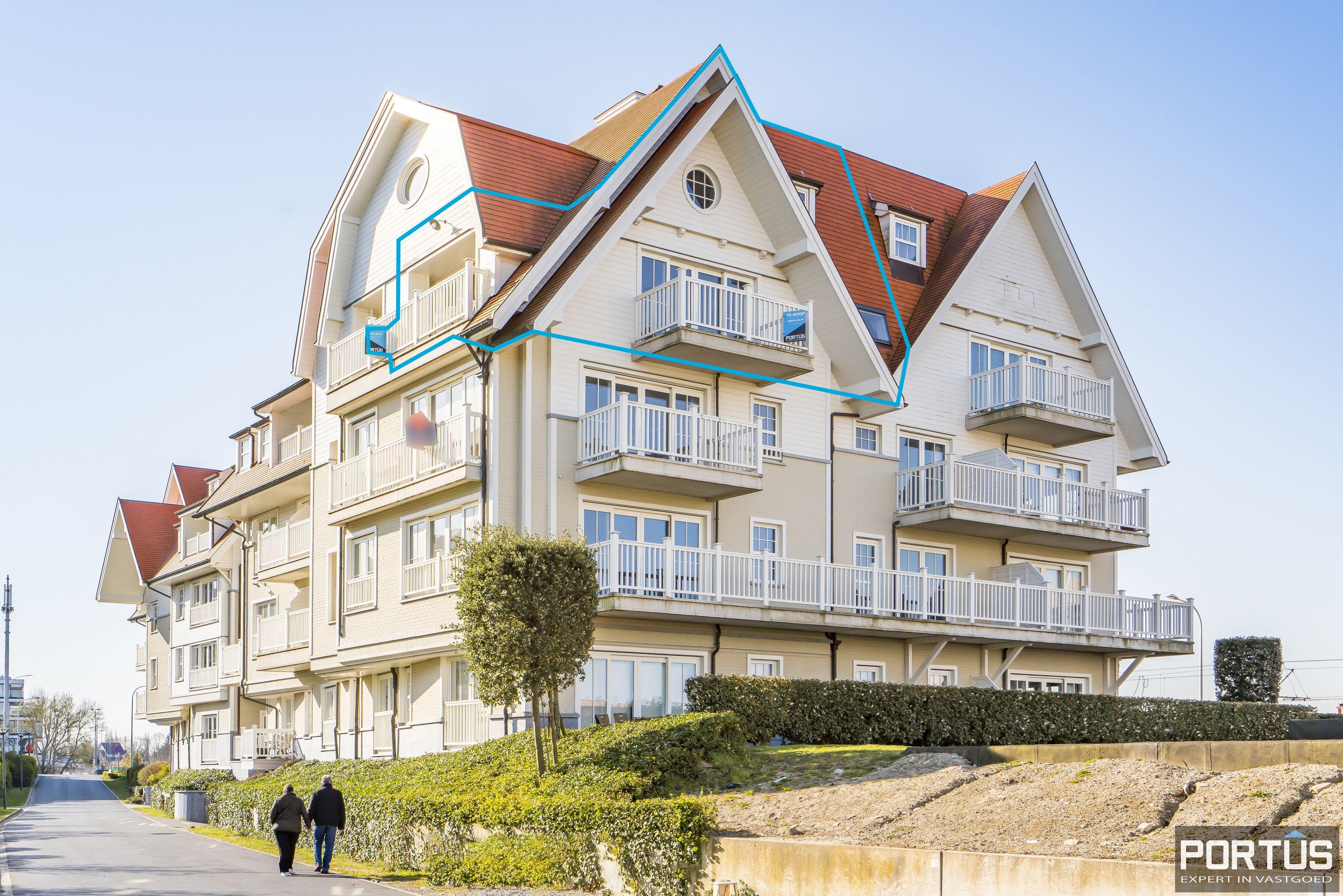 Instapklaar appartement te koop met prachtig zicht op Maritiem park te Nieuwpoort