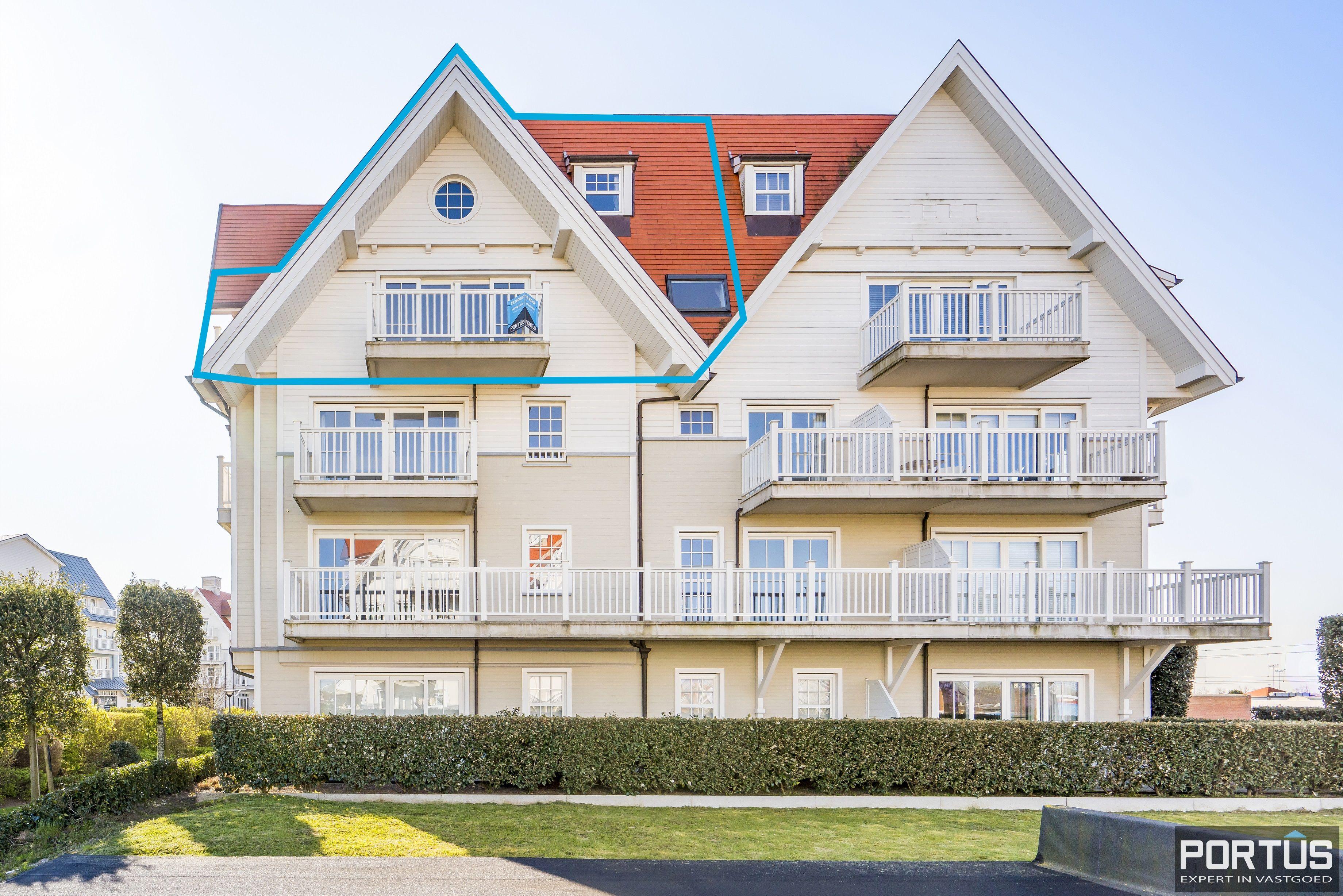Instapklaar appartement te koop met prachtig zicht op Maritiem park te Nieuwpoort - 13312