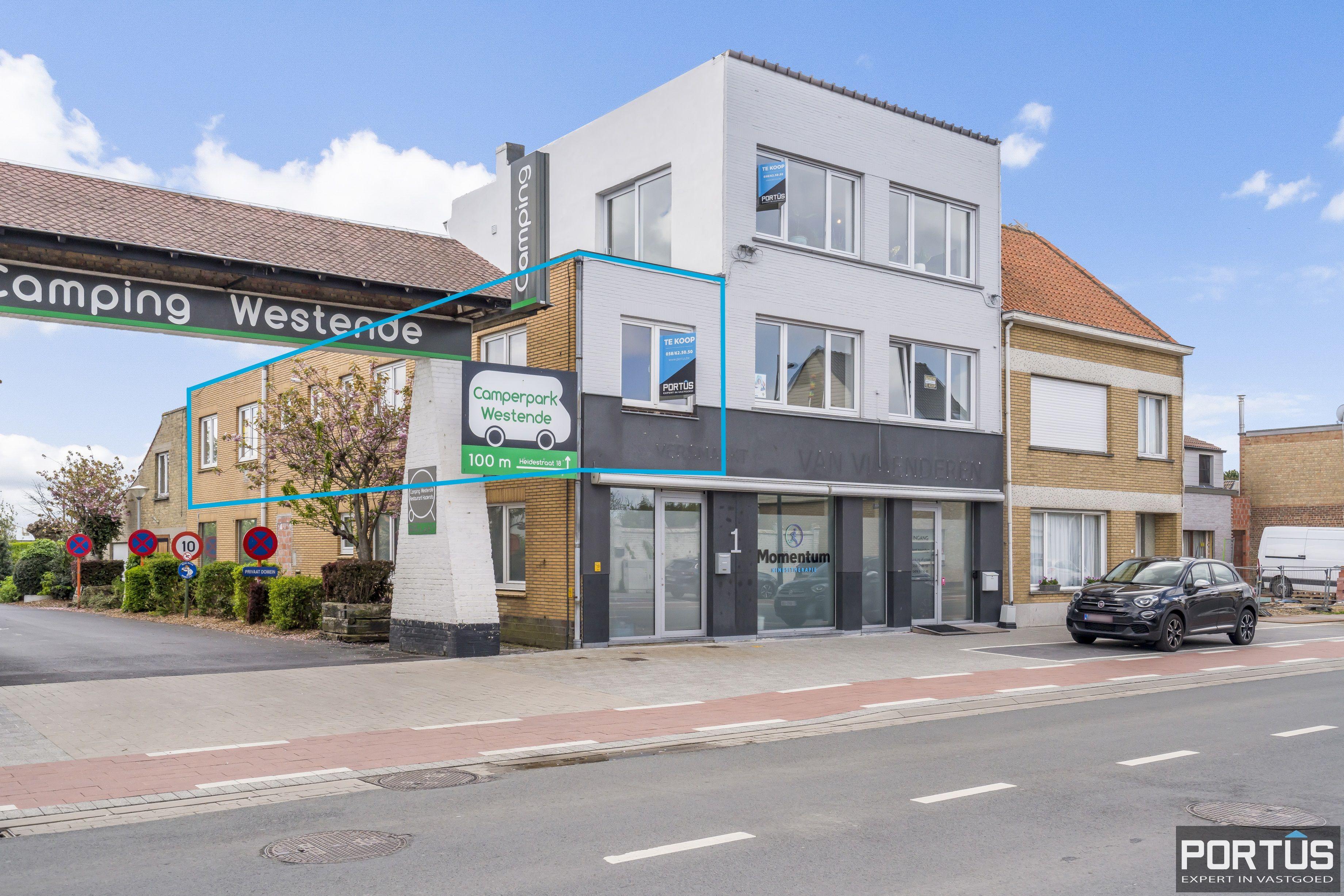 Gerenoveerd appartement te koop te Westende  - 13338