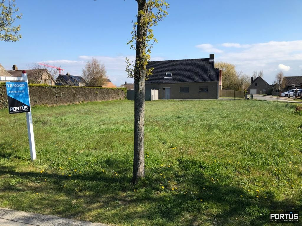 Bouwgrond te koop te Nieuwpoort - 13500