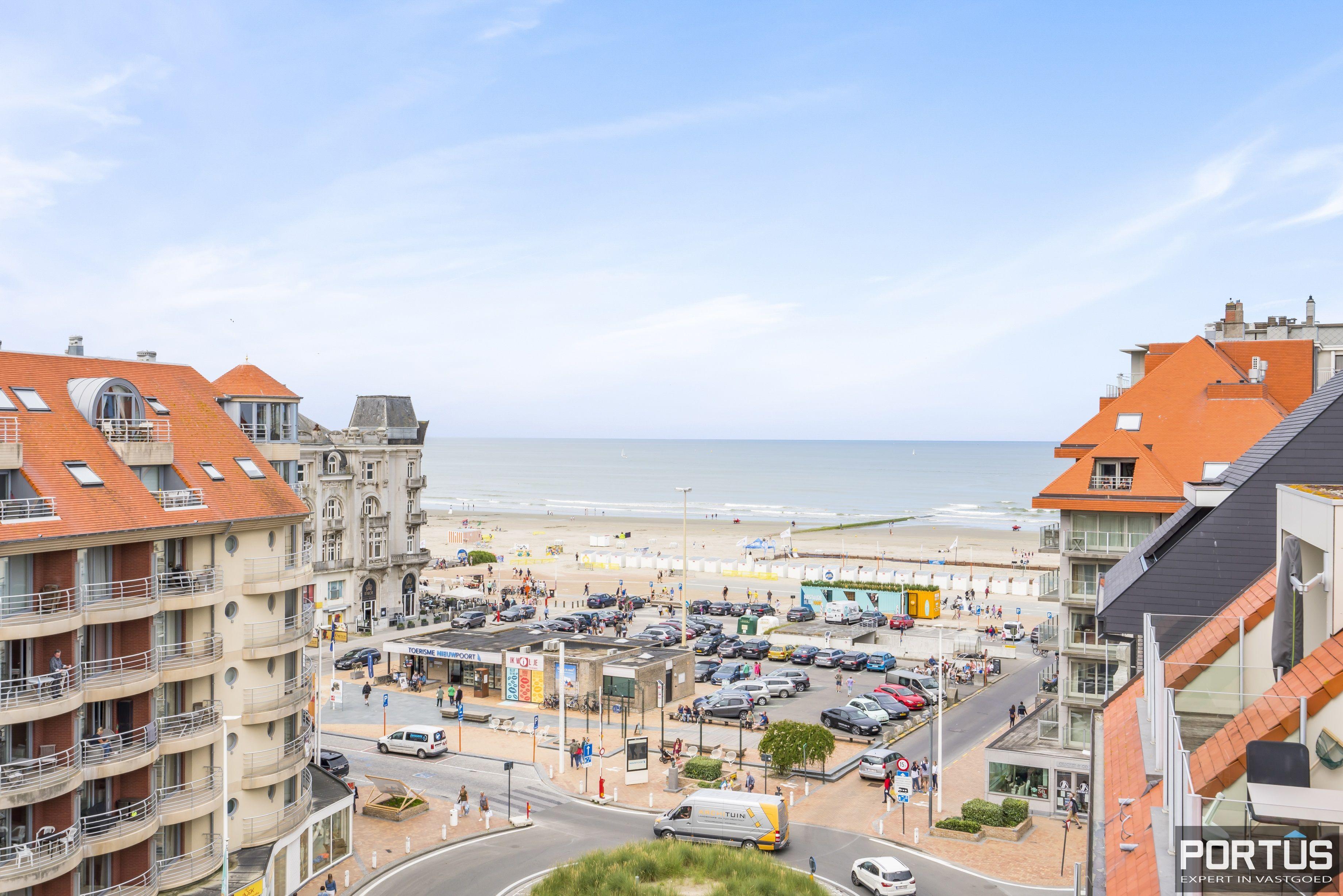 Penthouse met zeezicht te koop in Nieuwpoort-Bad