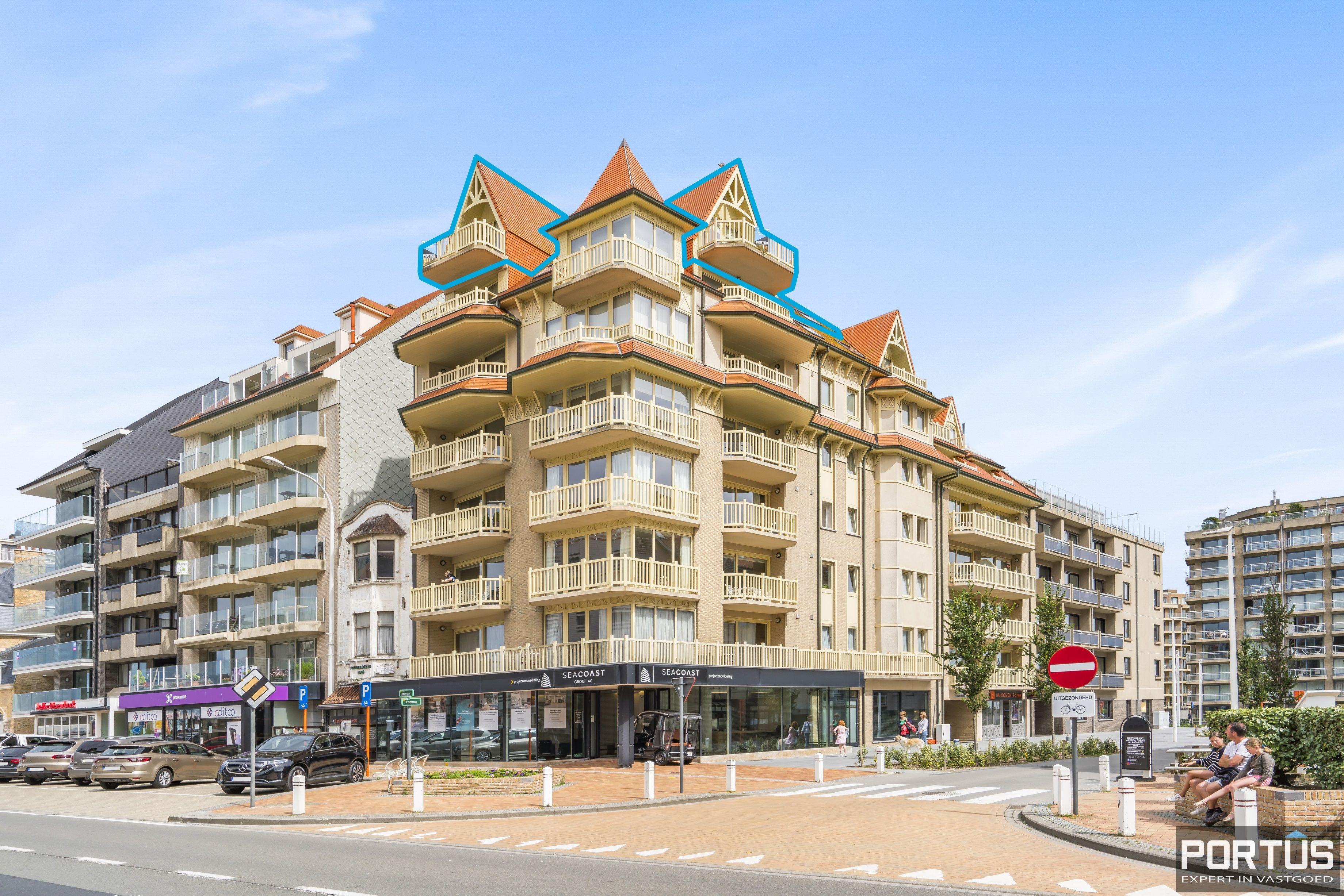 Penthouse met zeezicht te koop in Nieuwpoort-Bad - 13578