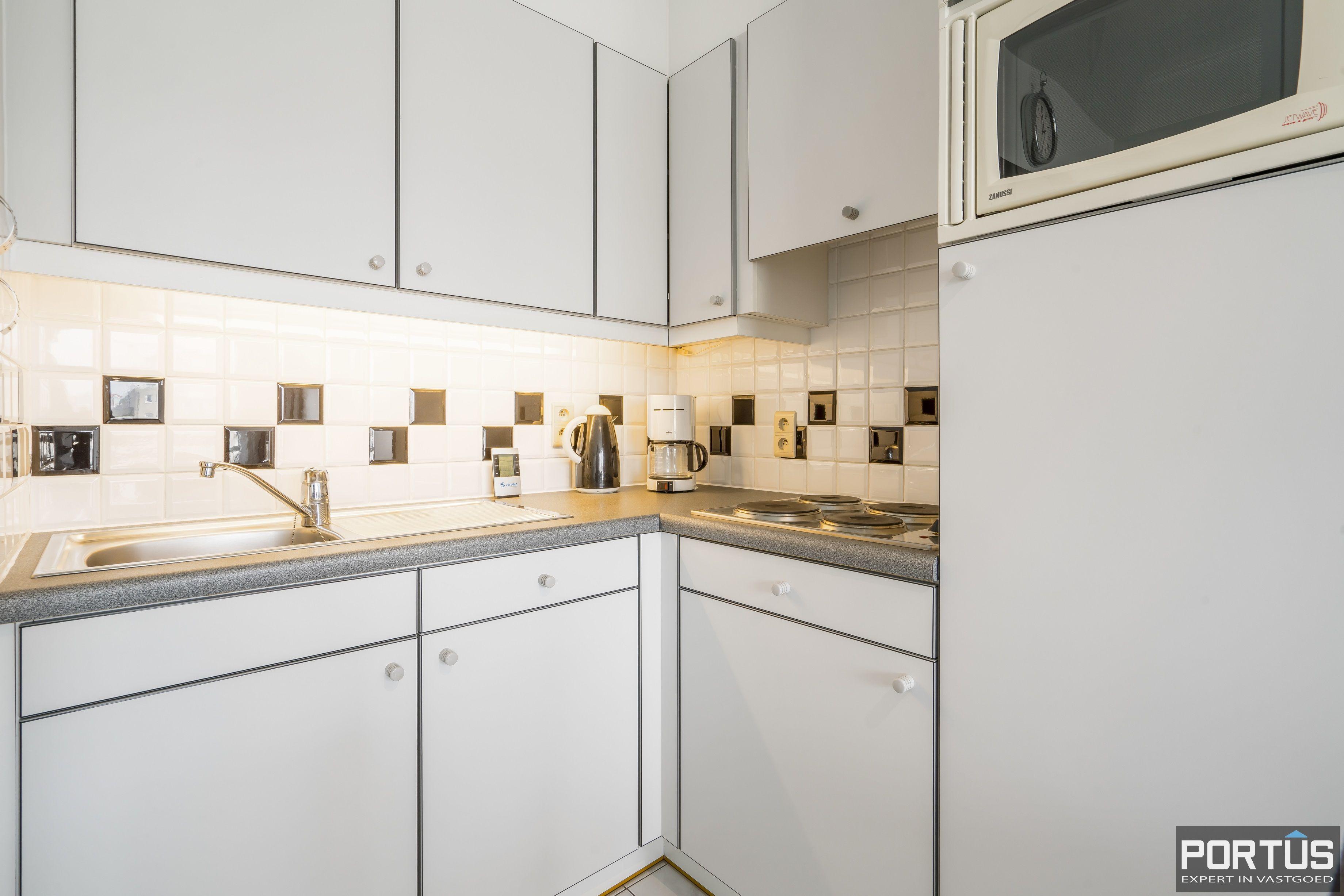 Instapklare zongerichte studio met slaaphoek te koop te Nieuwpoort - 13690