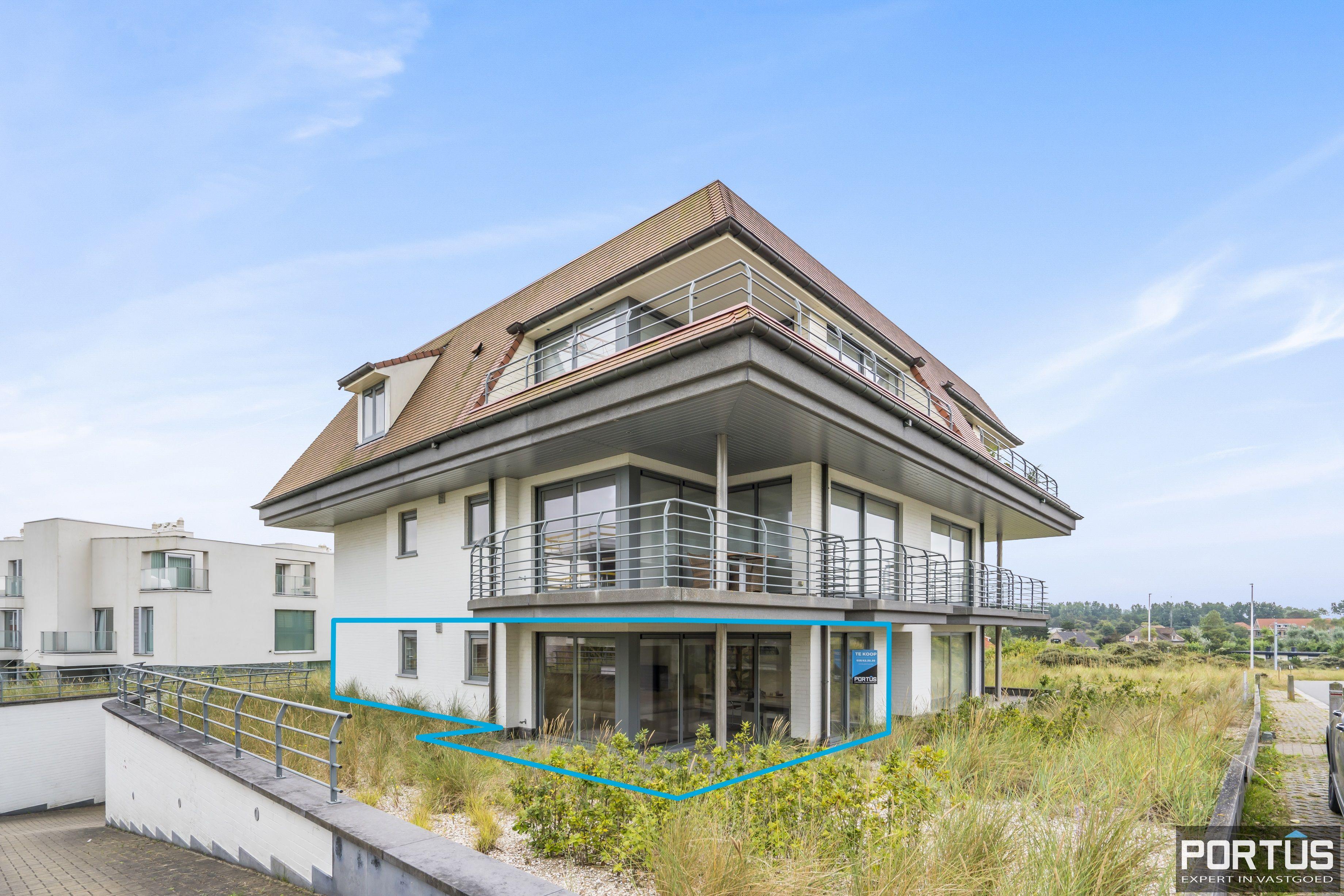 Gelijkvloers appartement met rustige ligging te koop te Oostduinkerke - 13819
