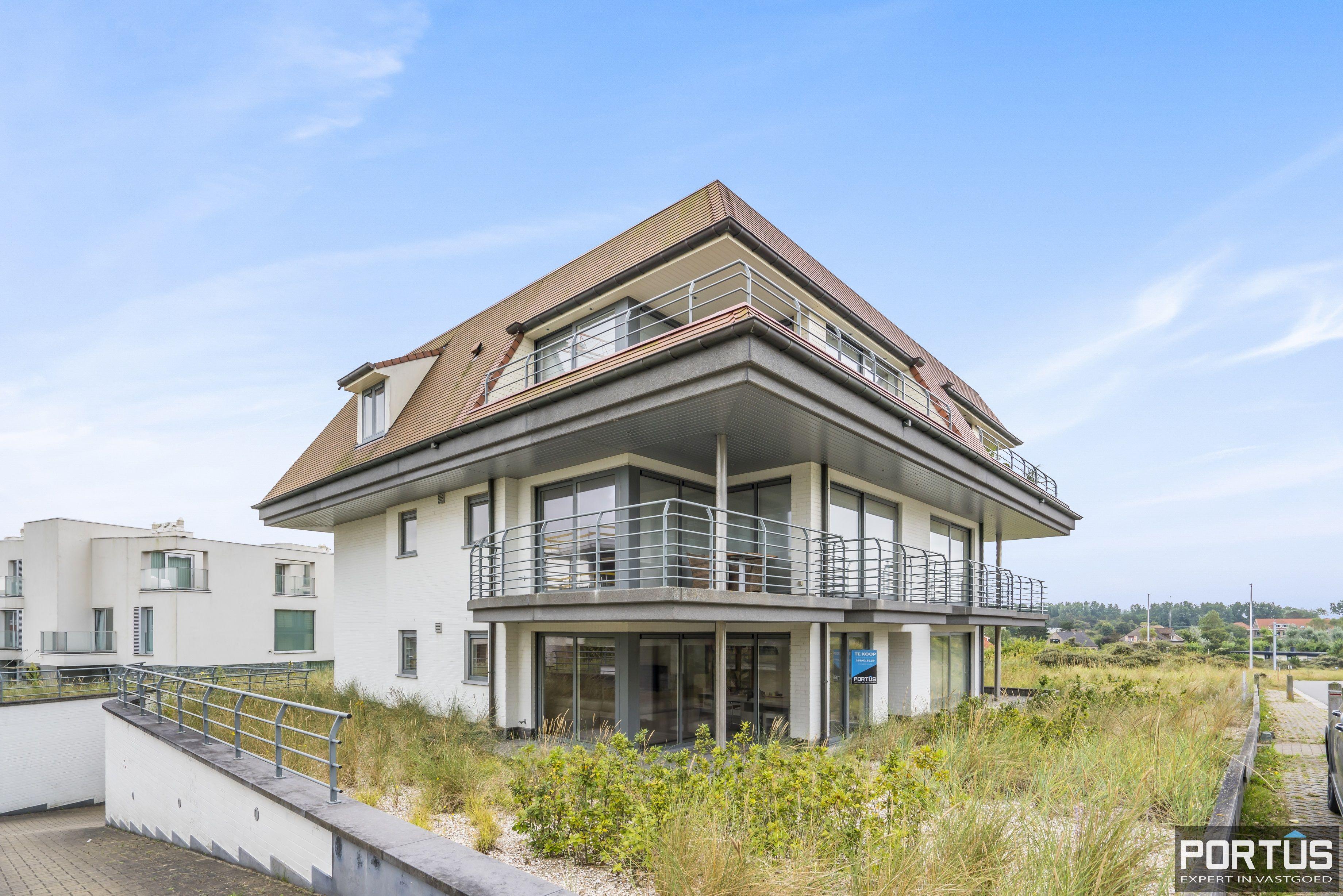Gelijkvloers appartement met rustige ligging te koop te Oostduinkerke