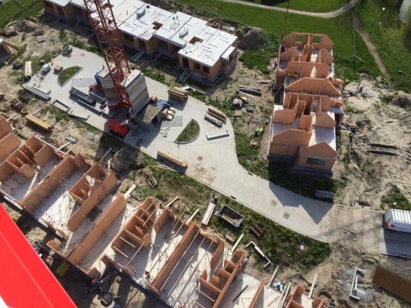 Nieuwbouwvilla's in de Simli wijk van Nieuwpoort - 1437