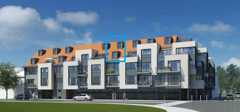 Duplex-appartement met 1 slaapkamer en terras te koop Nieuwpoort