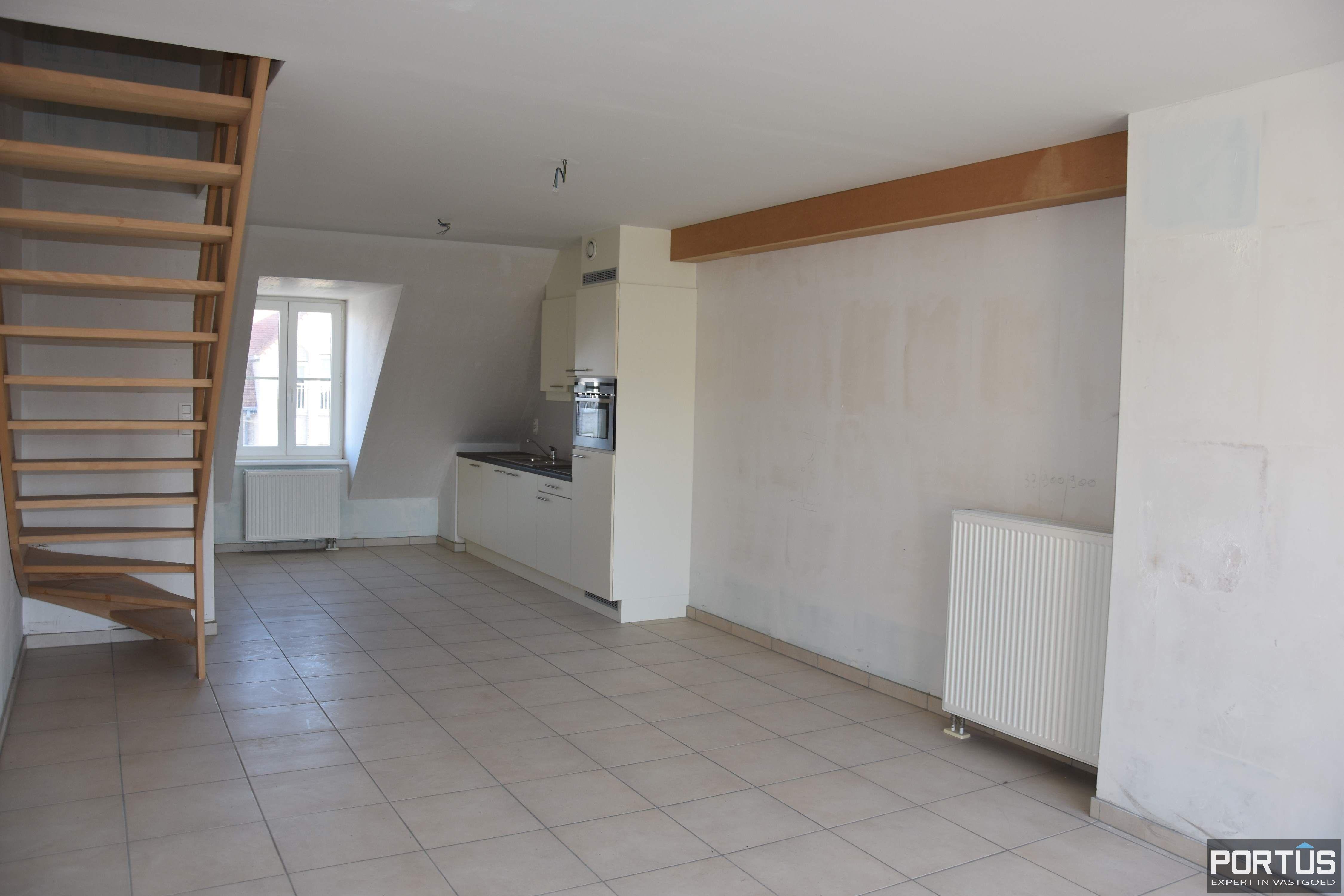 Duplex-appartement met 1 slaapkamer en terras te koop Nieuwpoort - 9357