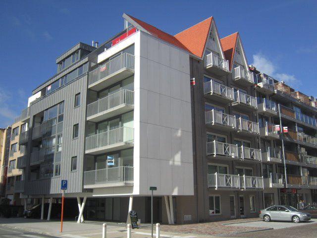 Zongericht appartement met terras Nieuwpoort