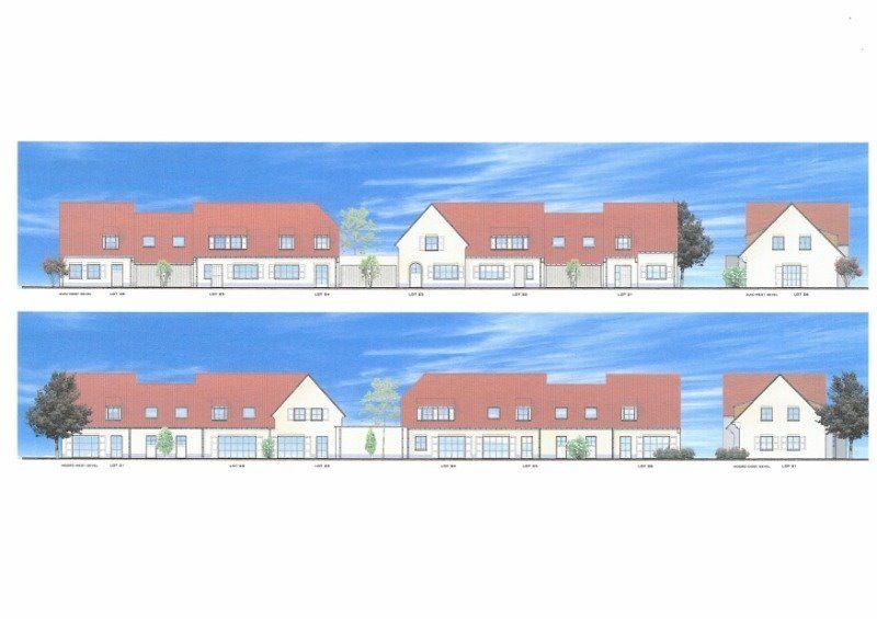Nieuwbouwvilla's in de Simli wijk van Nieuwpoort - 5067