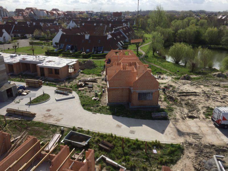 Nieuwbouwvilla's in de Simli wijk van Nieuwpoort - 5117
