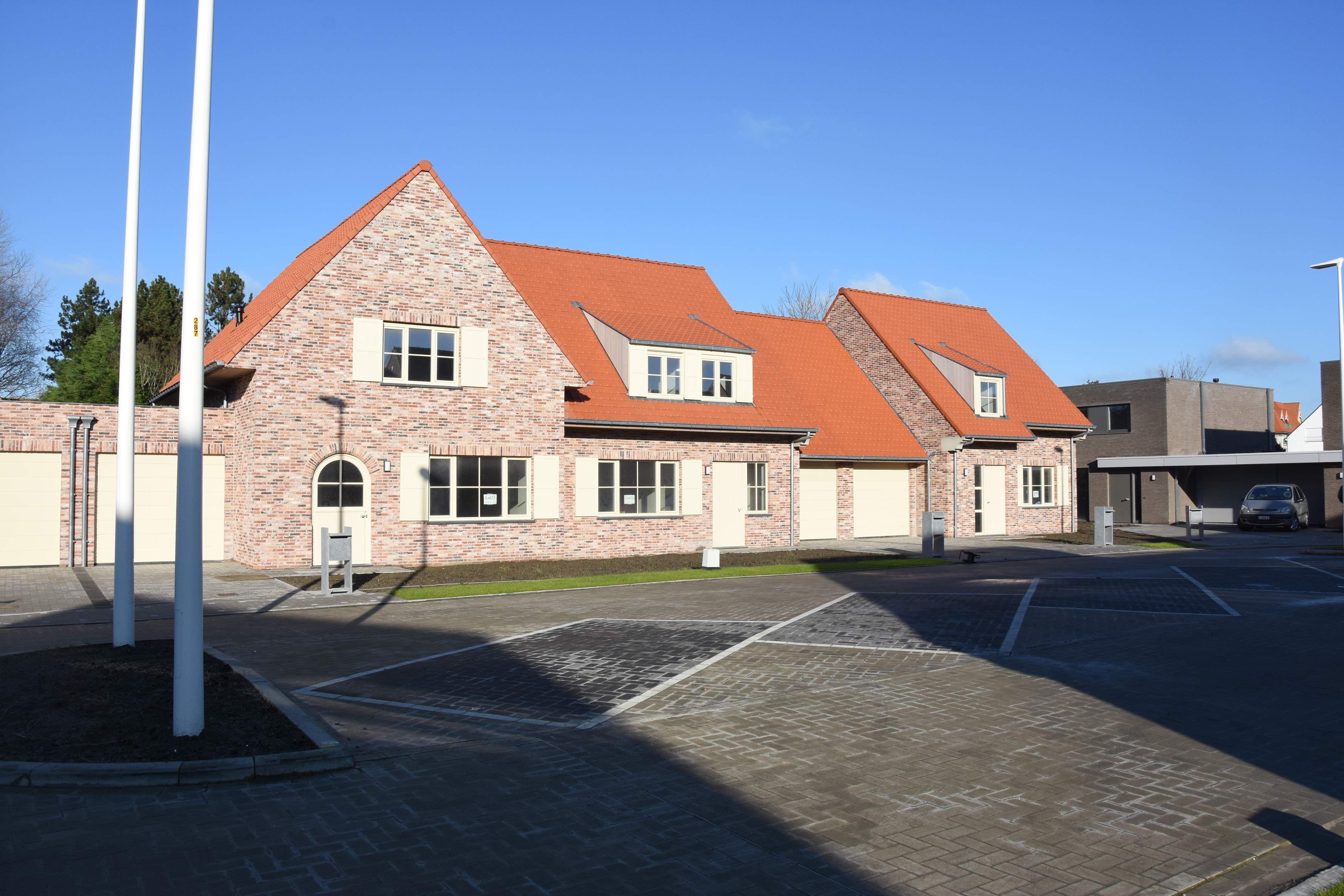 Nieuwbouwvilla's in de Simli wijk van Nieuwpoort - 6934