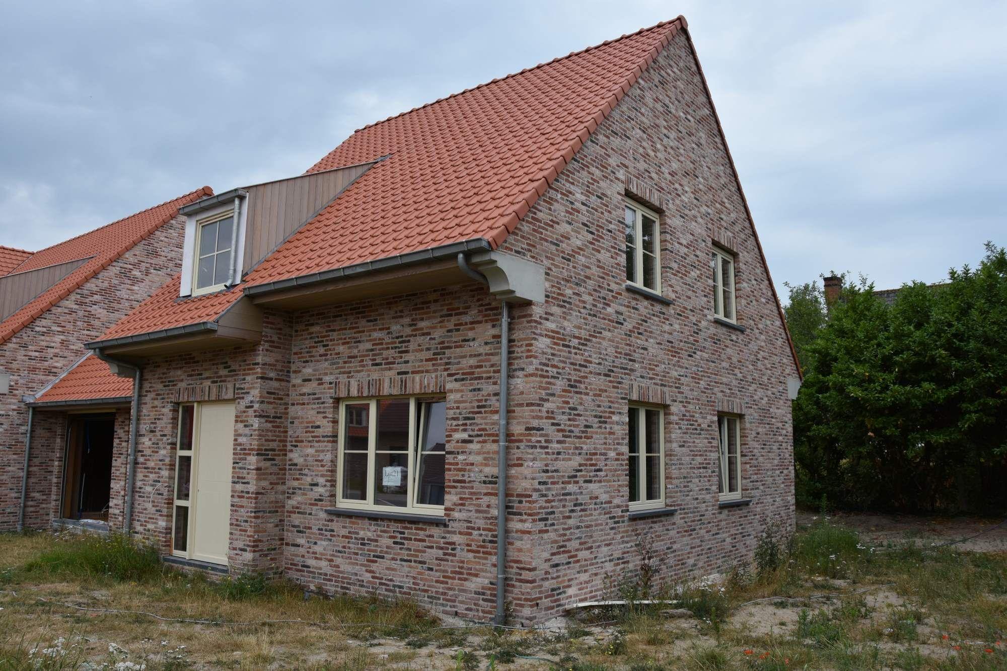 Nieuwbouwvilla's te koop in de Simli wijk Nieuwpoort