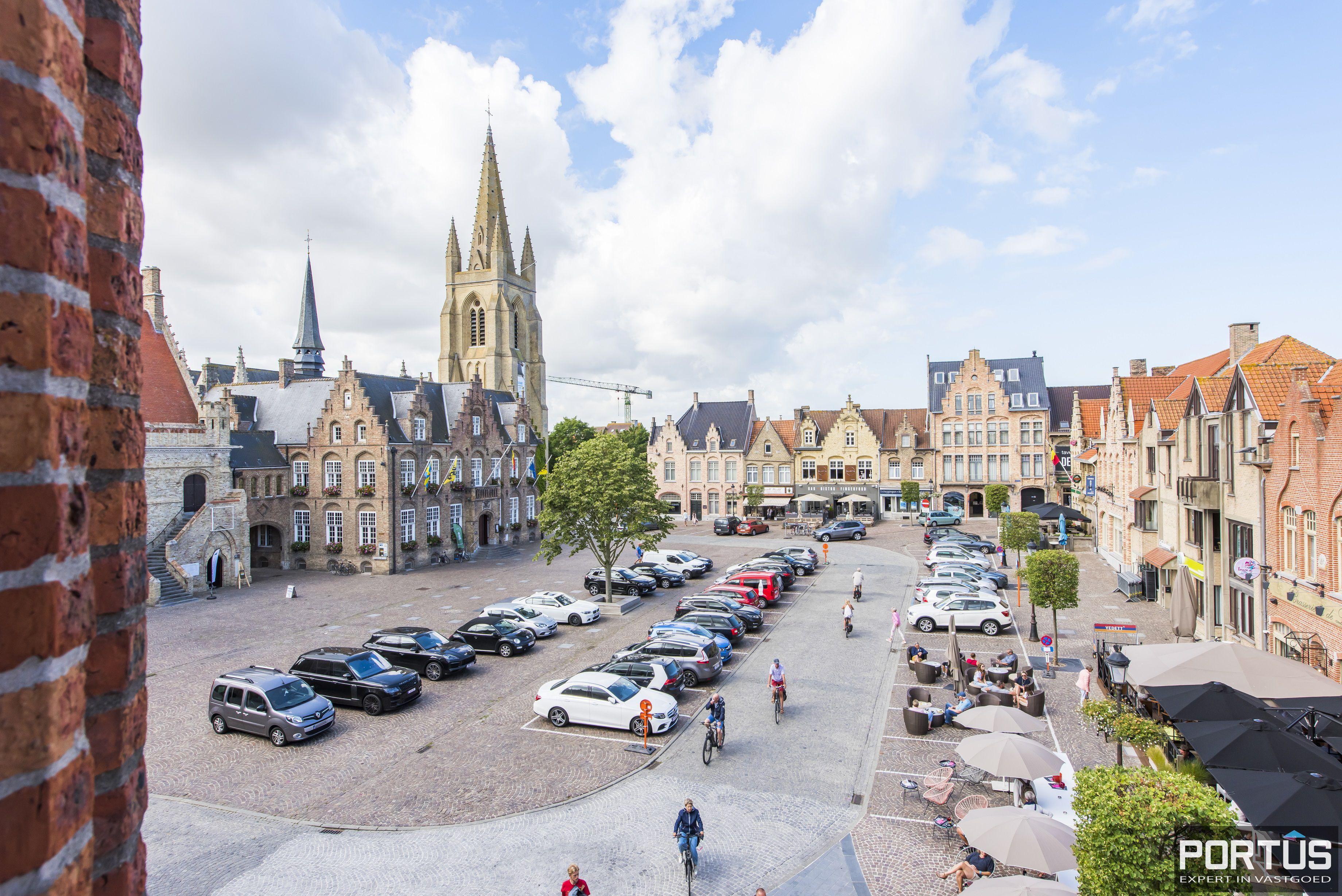 Appartement 3 slaapkamers te koop Marktplein Nieuwpoort - 9926