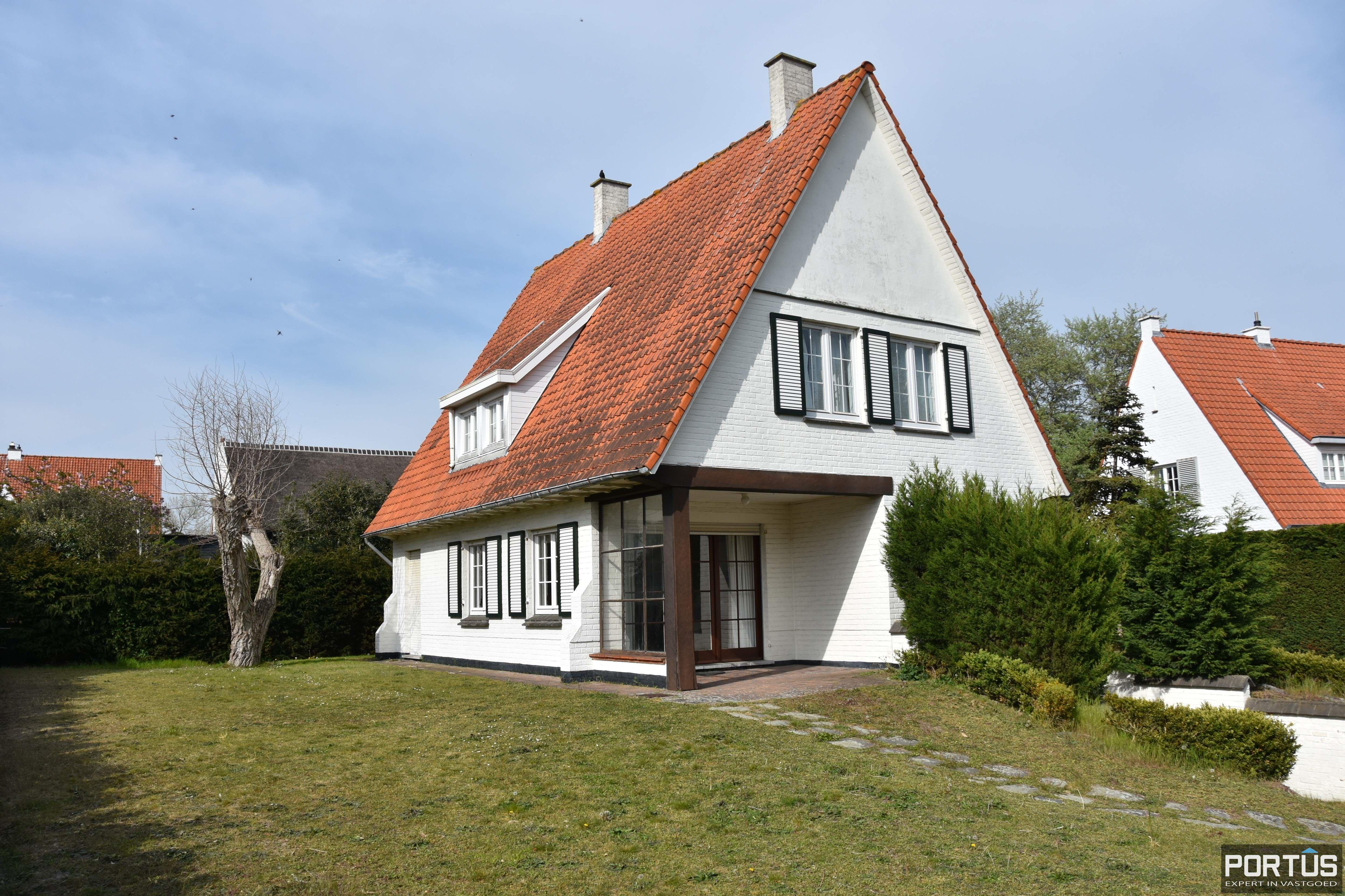 Instapklare villa te huur te Nieuwpoort