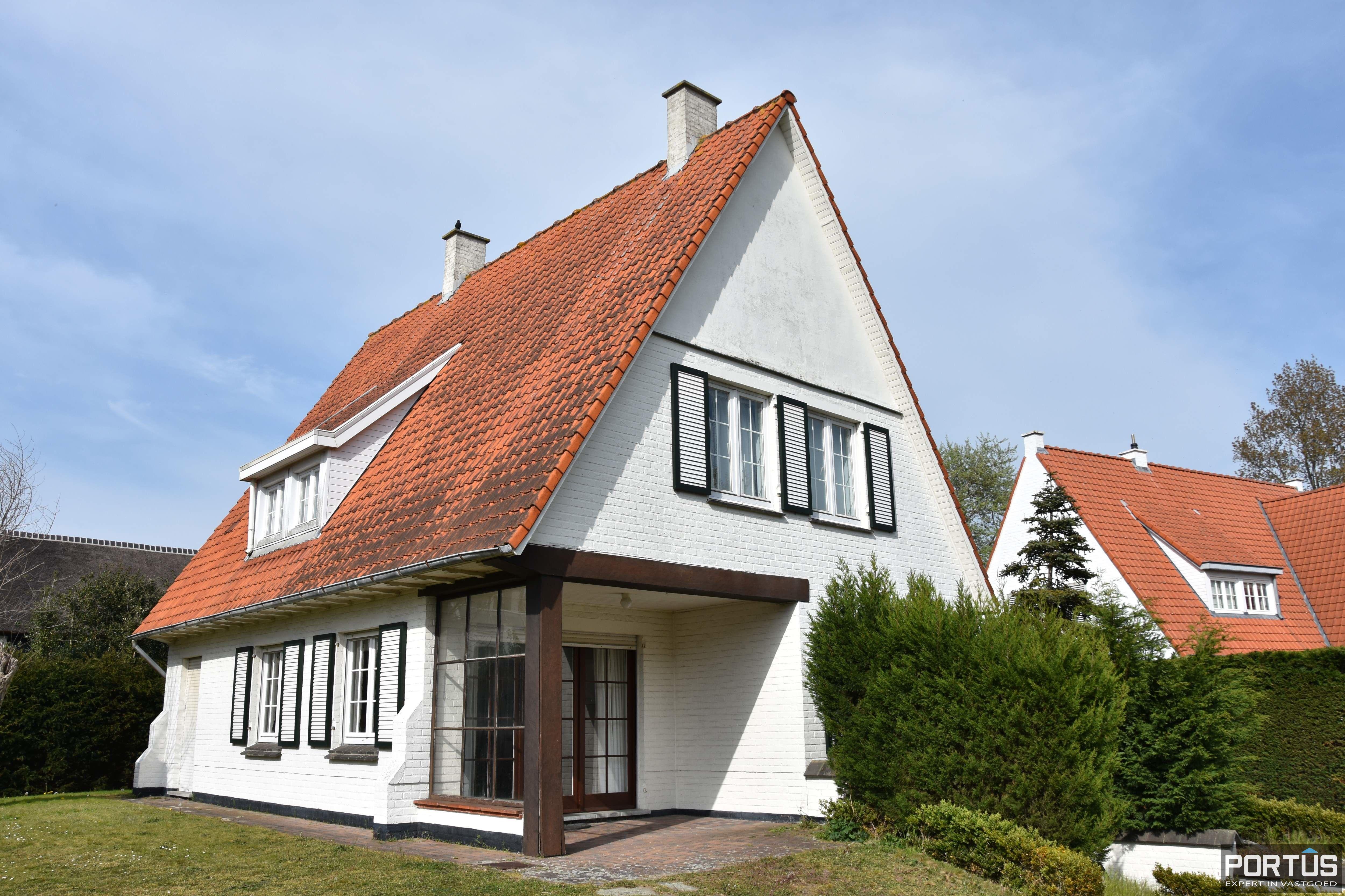 Instapklare villa te huur te Nieuwpoort - 9692