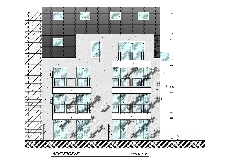 Nieuwbouwappartement met berging en parking te huur - 7082